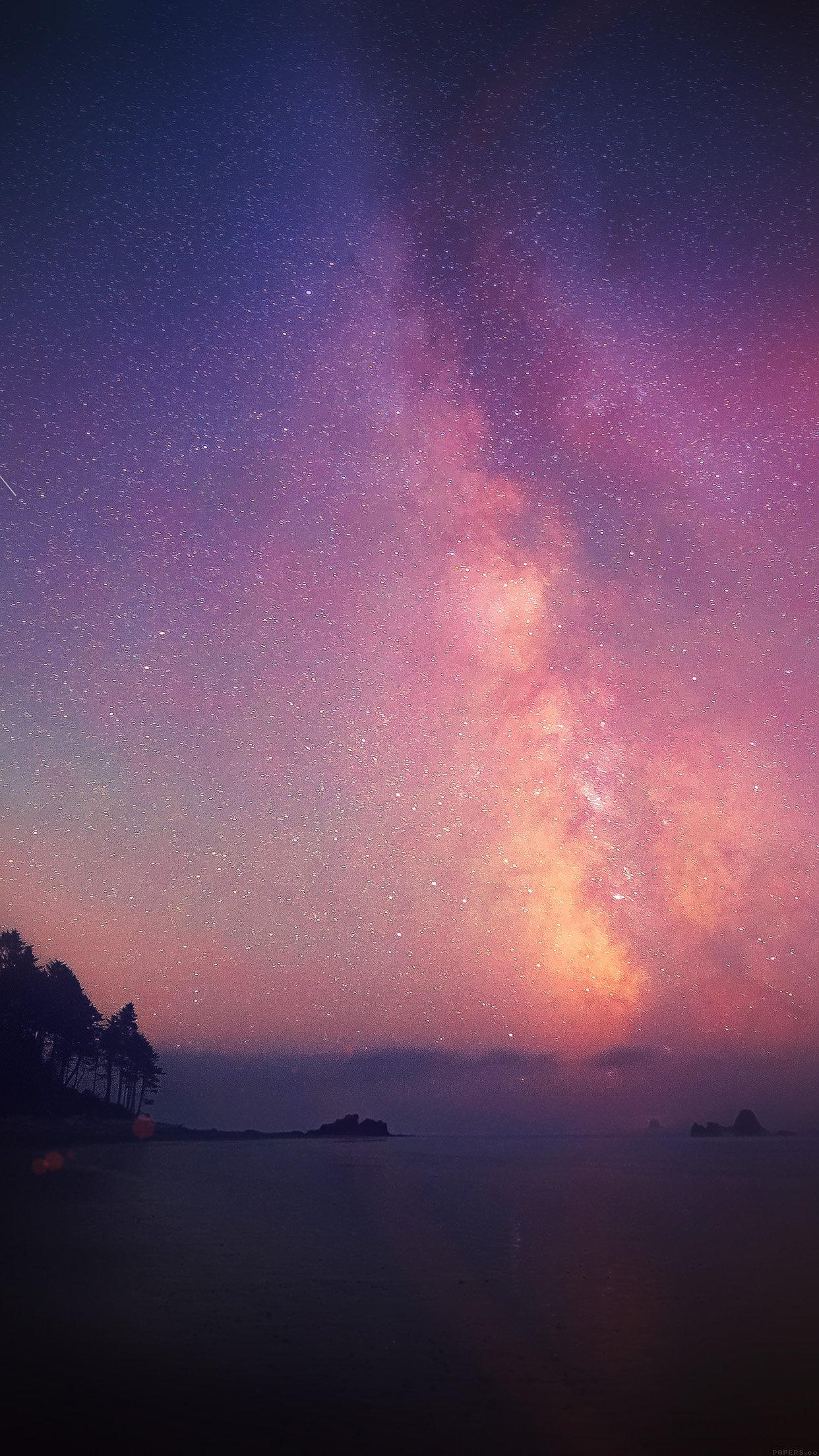 11 119556 pink night sky wallpaper hd