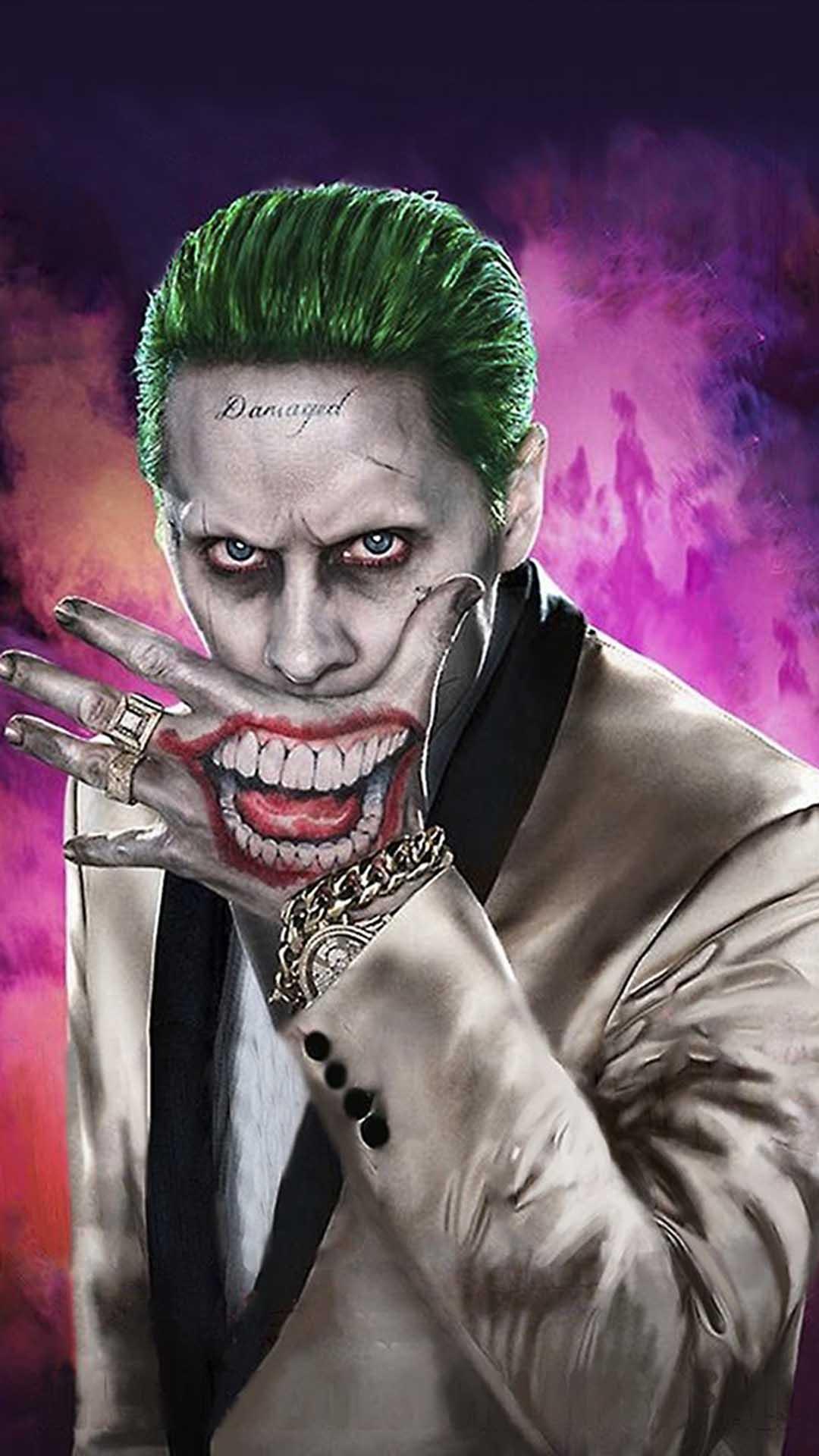 Iphone Wallpaper Joker Leto Joker Joker Jared Leto Hd 1080x1920 Download Hd Wallpaper Wallpapertip