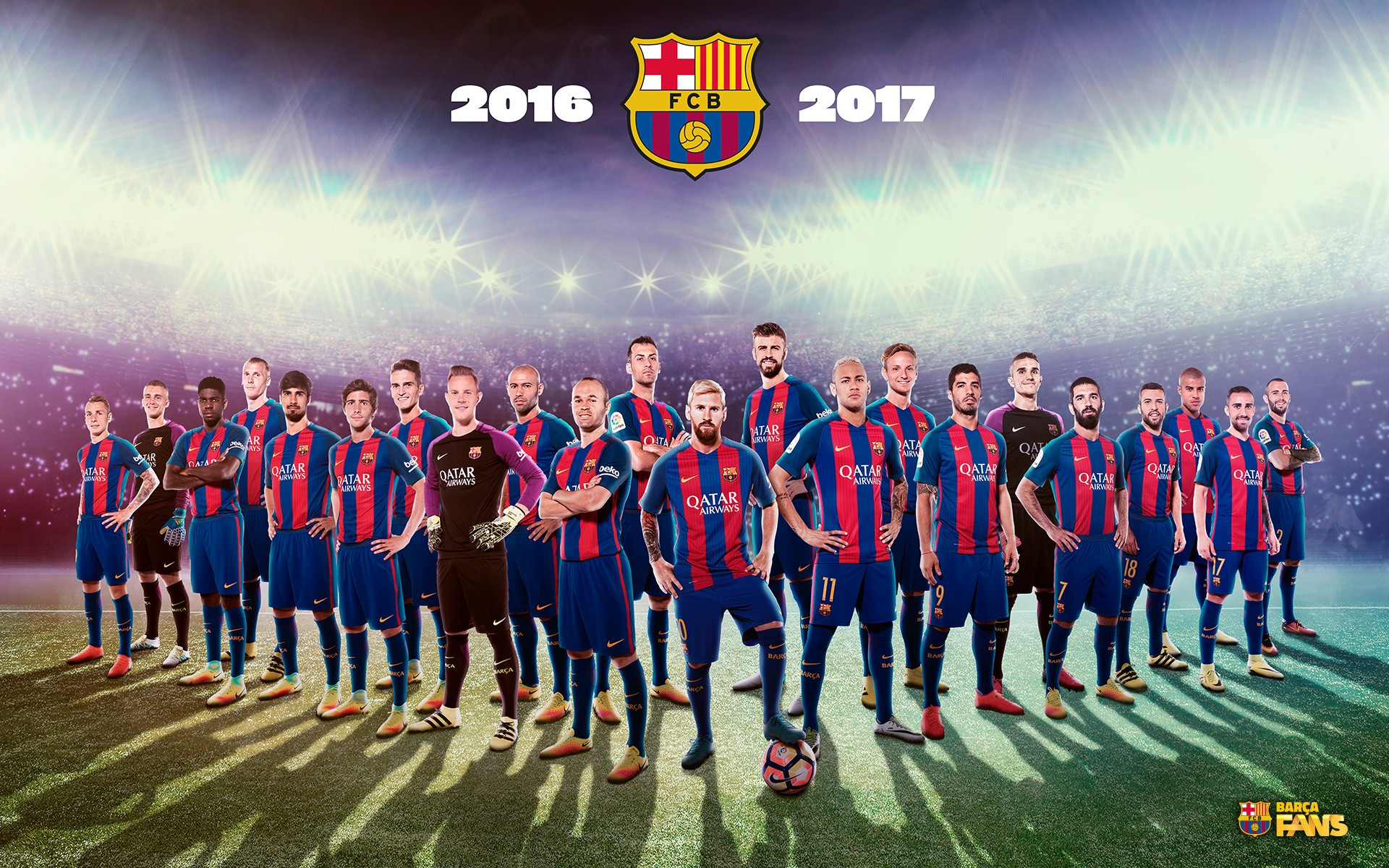 Fc Barcelona Computer Wallpapers Barcelona Fc Wallpaper Team 1920x1200 Download Hd Wallpaper Wallpapertip