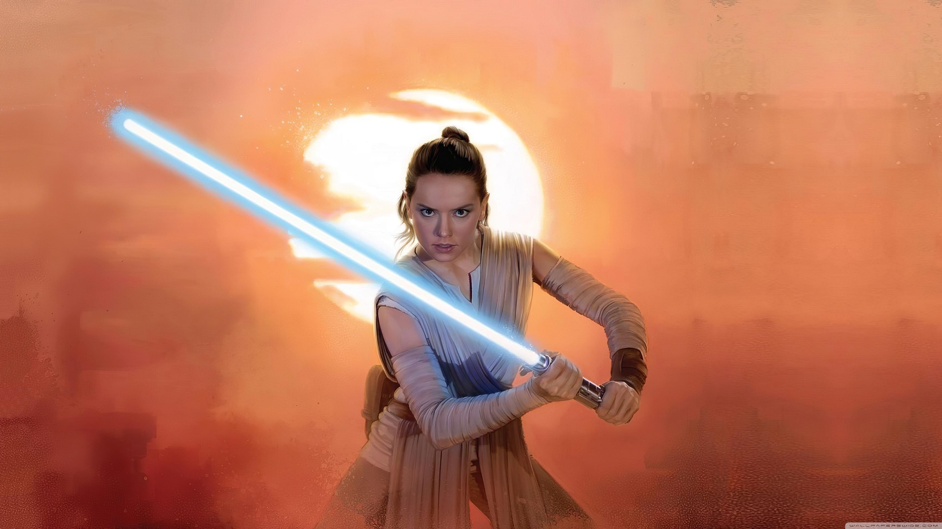 Star Wars Rey 3840x2160 Download Hd Wallpaper Wallpapertip