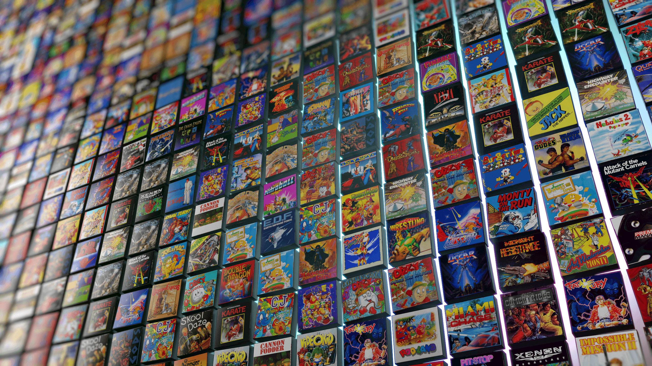 Retro Gaming Wallpaper 2560x1440 Download Hd Wallpaper Wallpapertip