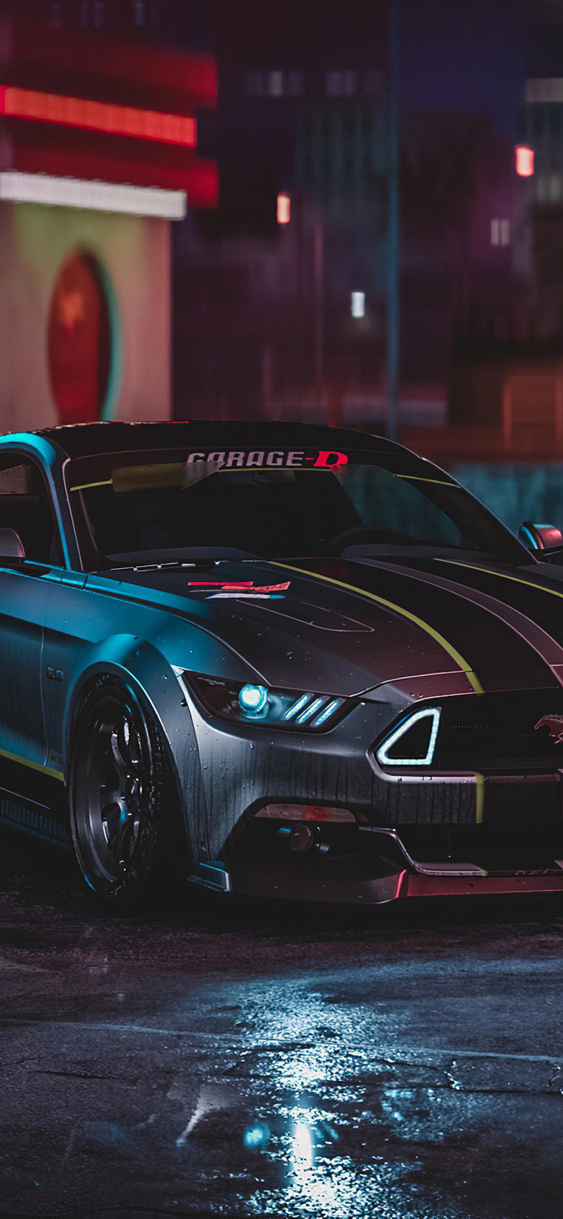 Mustang Wallpaper Iphone 8
