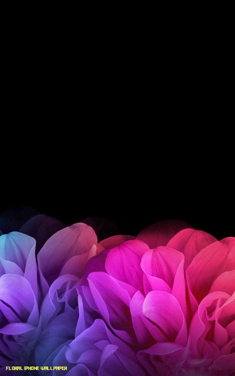 Free Download Black Floral Iphone ...