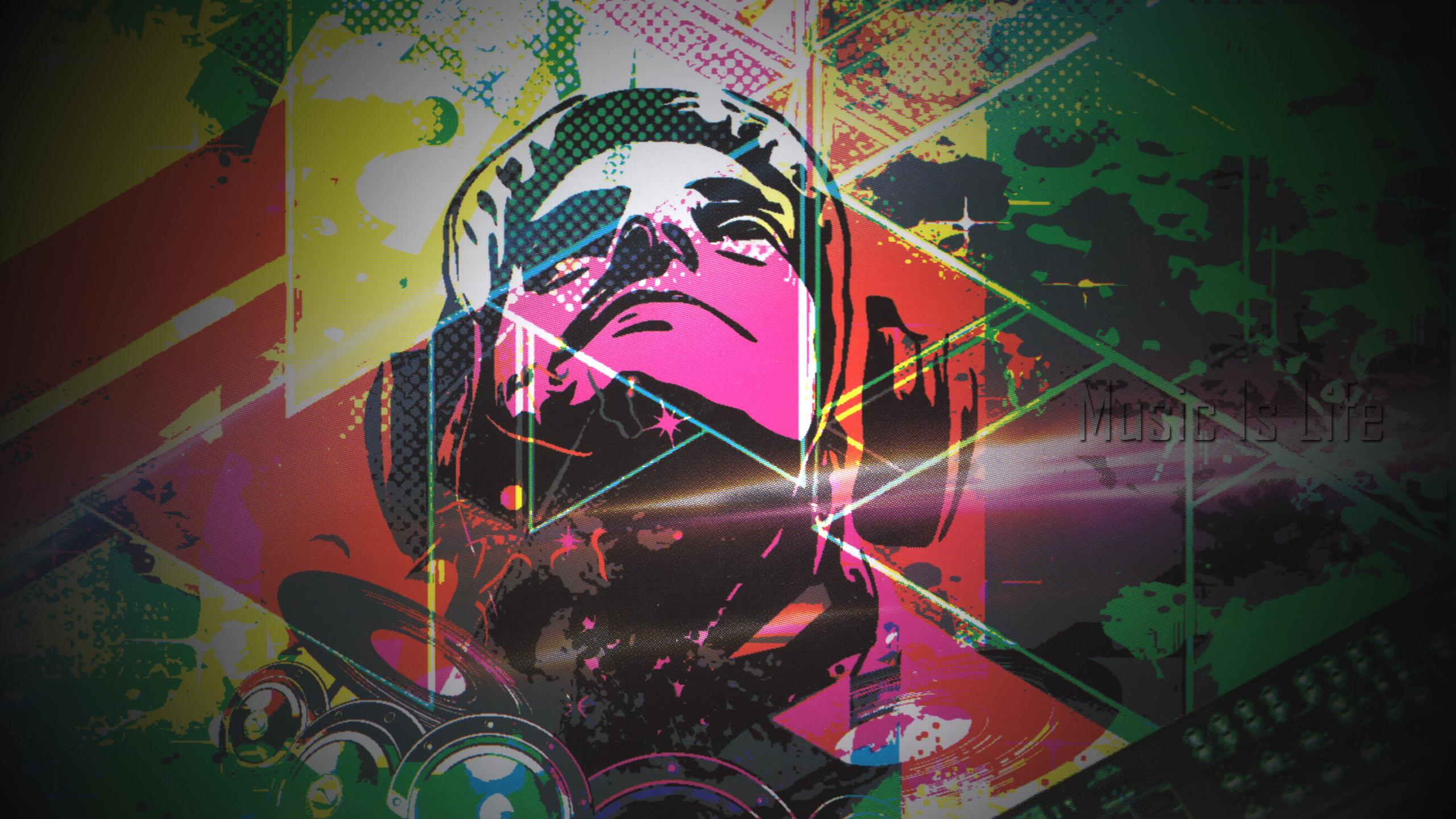 Art Music 2560x1440 Download Hd Wallpaper Wallpapertip