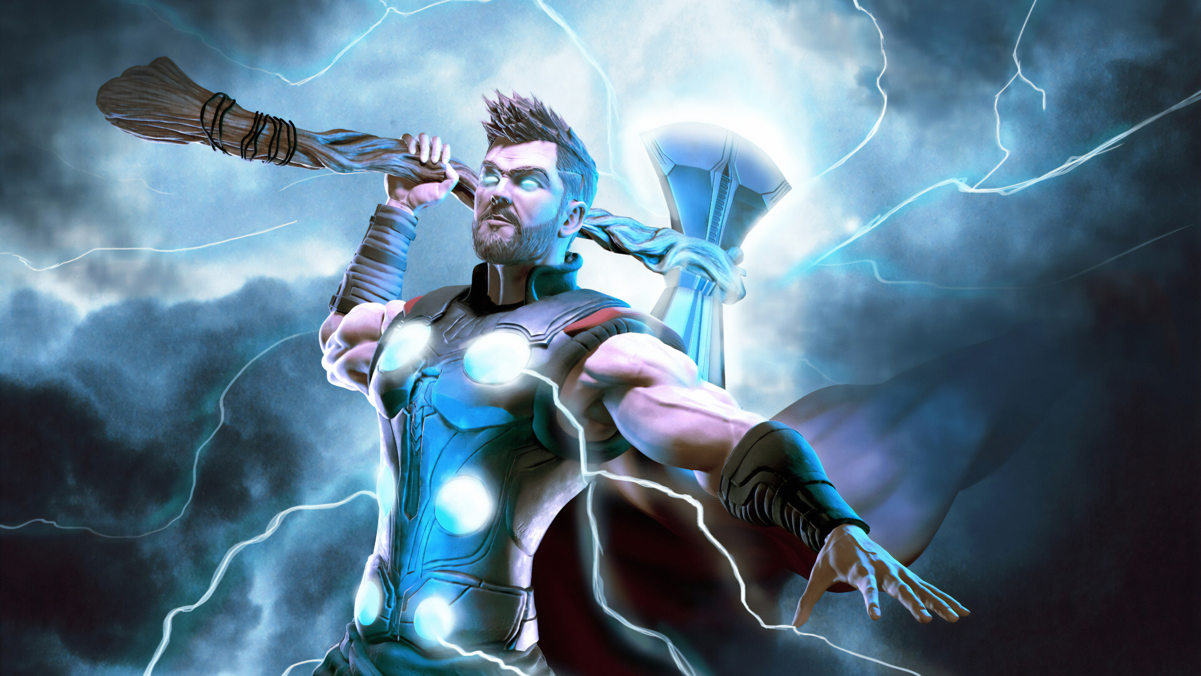 Thor Hd Wallpapers For Pc 3840x2160 Download Hd Wallpaper Wallpapertip