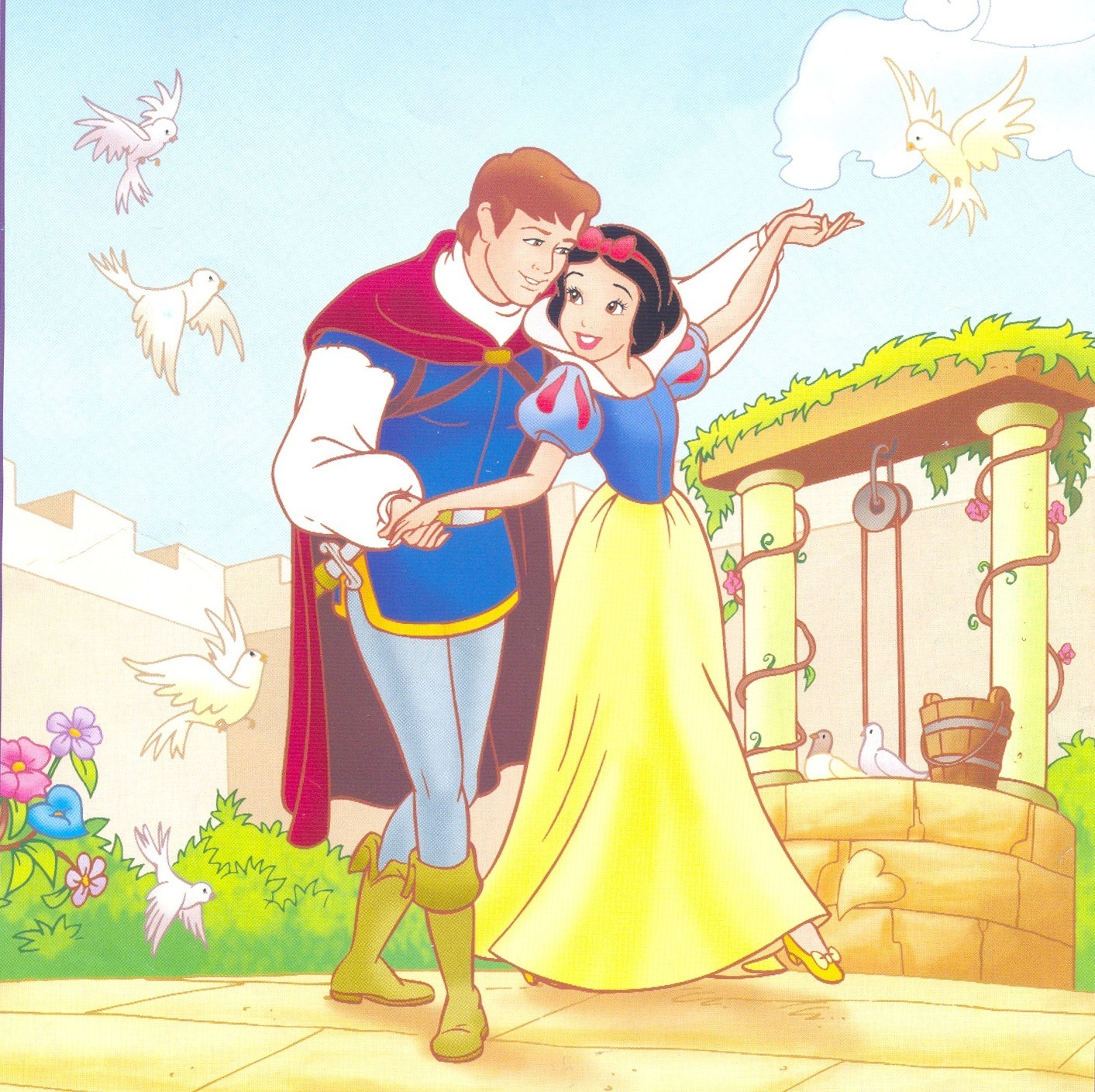 Snow White And Prince - Snow White With ...