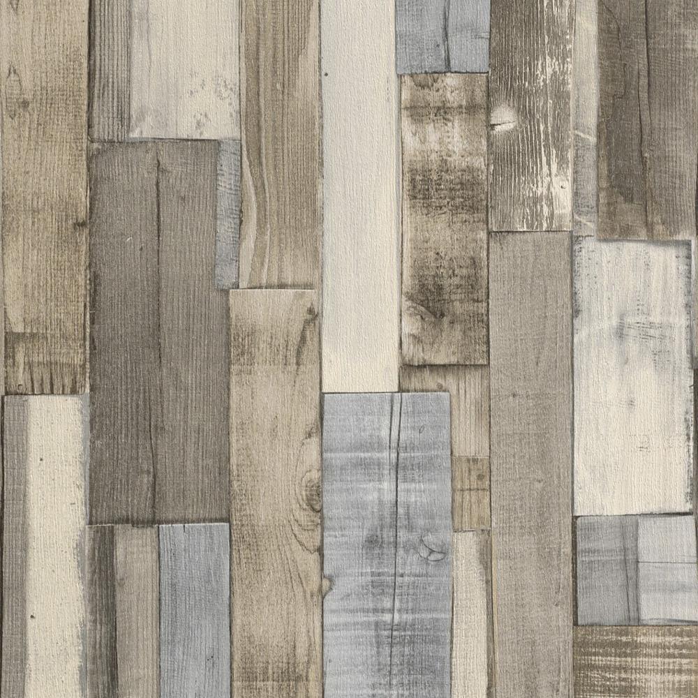 木目調壁紙グレー 木製パネル効果壁紙 1000x1000 Wallpapertip