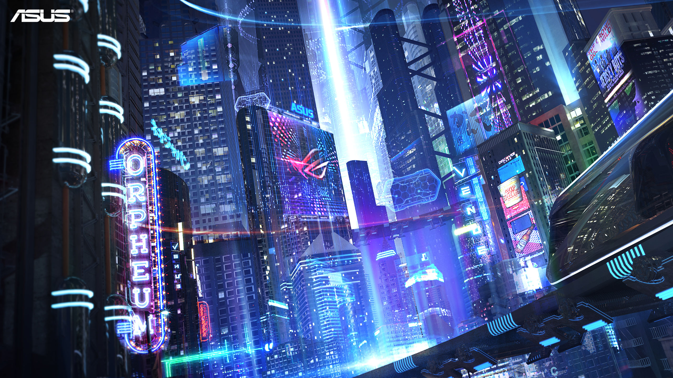4k Sci Fi City 2560x1440 Download Hd Wallpaper Wallpapertip