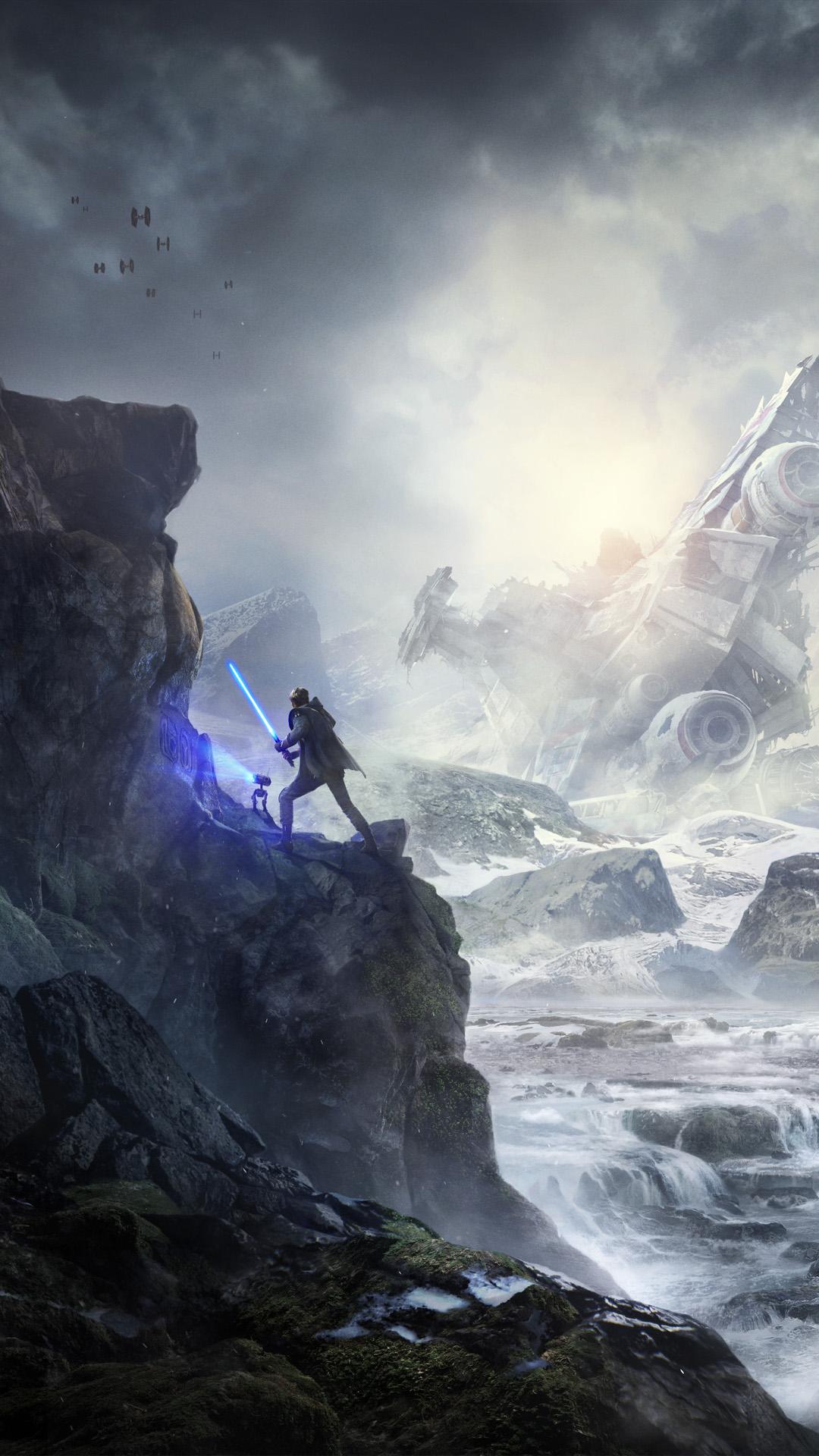 Star Wars Jedi Fallen Order Posters 1080x1920 Download Hd Wallpaper Wallpapertip