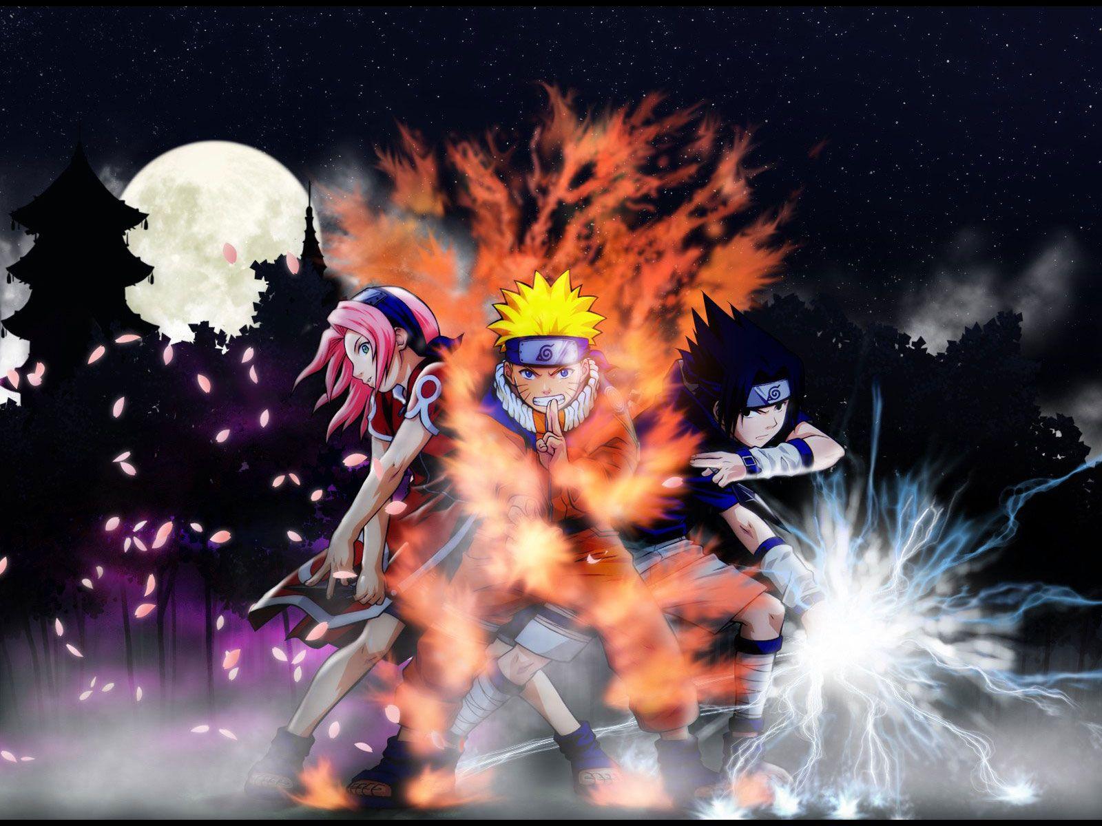 25 Cool And Amazing Anime Wallpapers De Naruto Sasuke Sakura 1600x1200 Download Hd Wallpaper Wallpapertip
