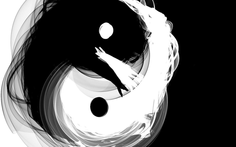 Yin Yang Art Hd - 1440x900 - Download HD Wallpaper ...