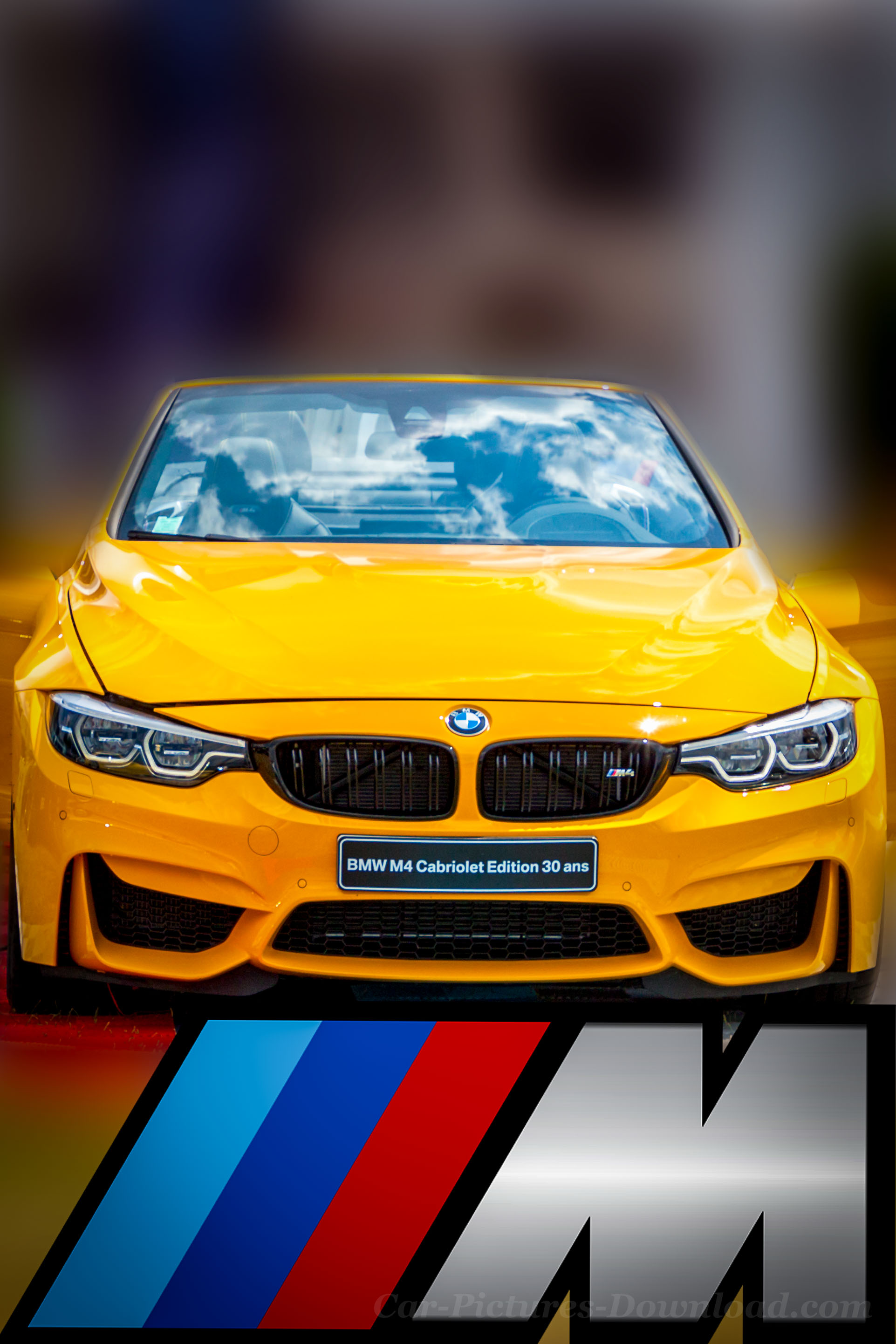 Yellow Bmw M4 Cabriolet Car Wallpaper Android Bmw M5 Wallpaper 4k Yellow 1923x2885 Download Hd Wallpaper Wallpapertip