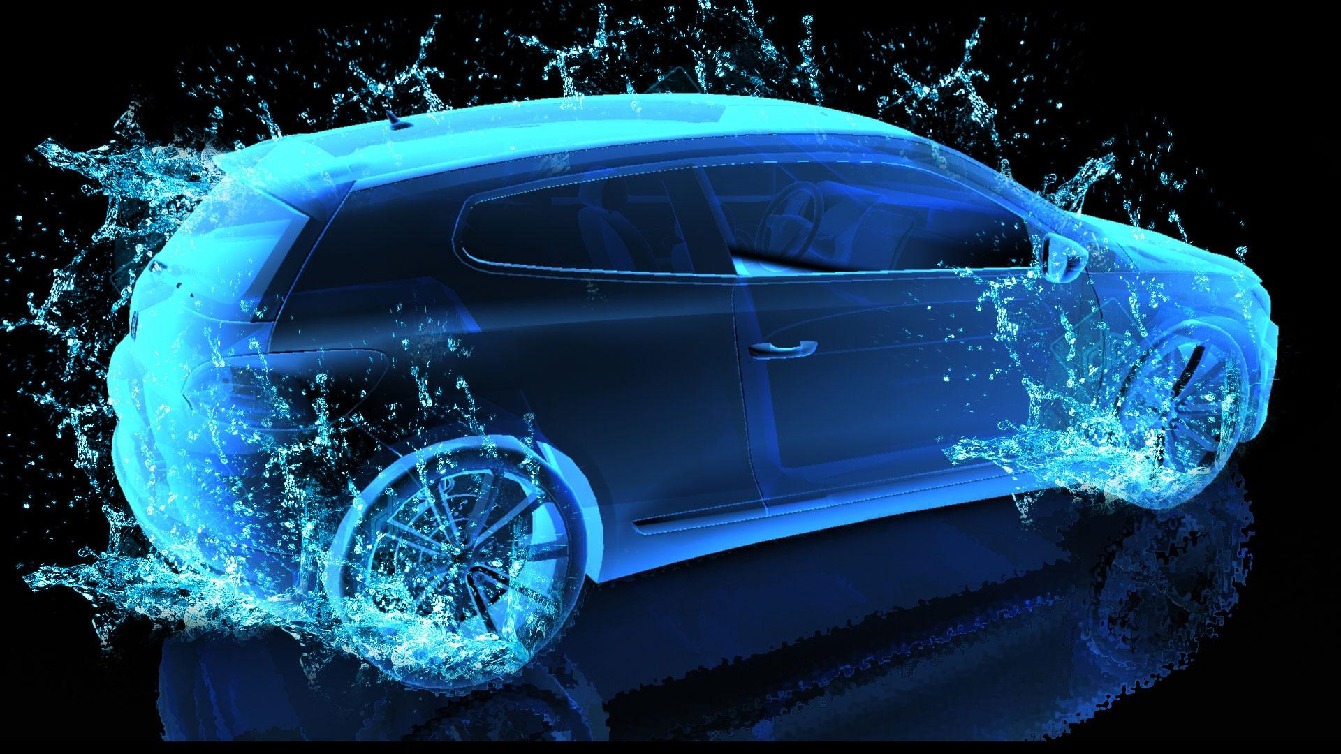 3d Neon Car Background Light Car Wallpaper Hd 1920x1080 Download Hd Wallpaper Wallpapertip