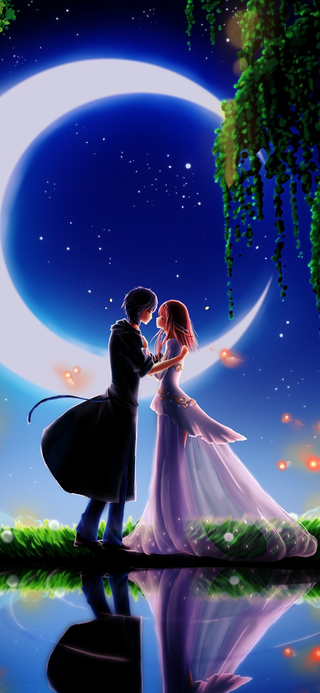 Wallpaper Romantic Wallpaper Love 1080x2340 Download Hd Wallpaper Wallpapertip