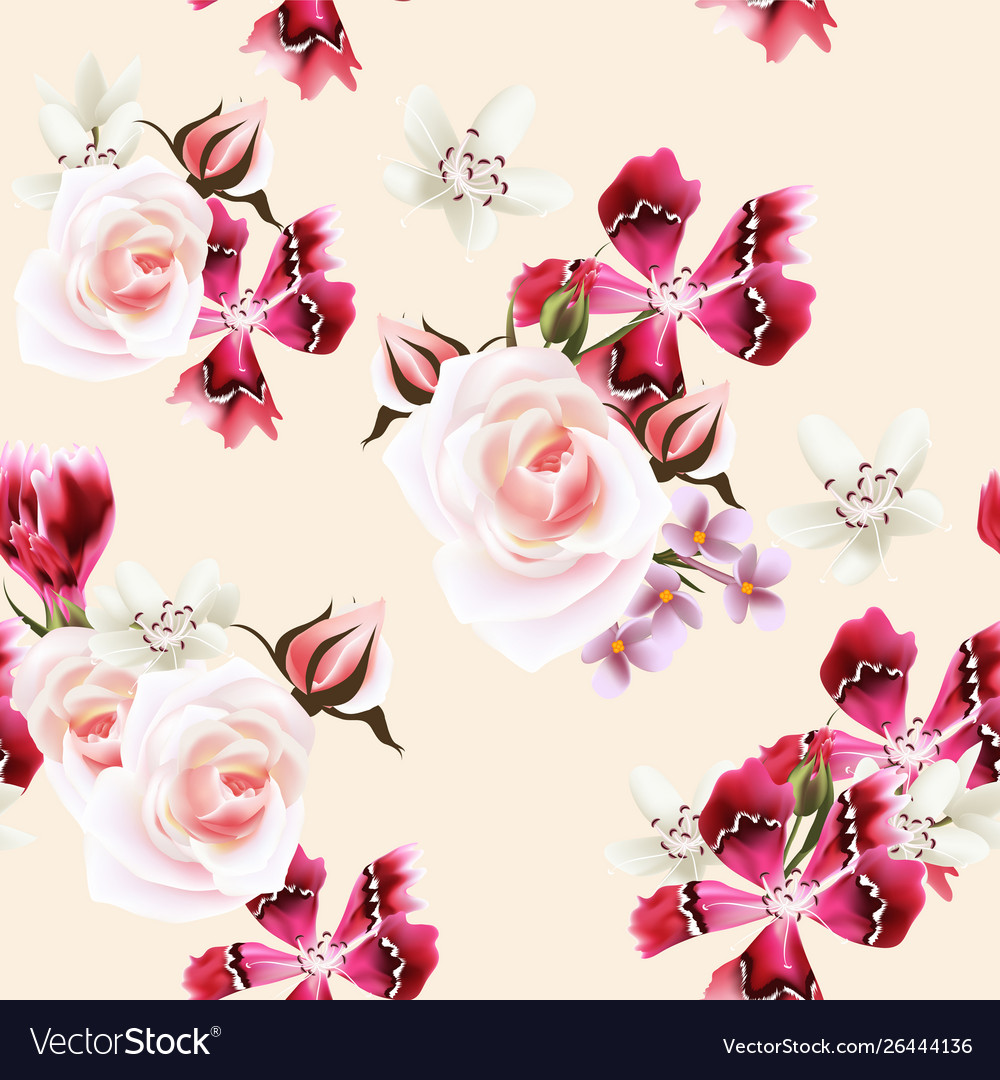 Wallpaper Pattern With Roses And Pink Flowers Rose Wallpaper Pink Flowers 1000x1080 Download Hd Wallpaper Wallpapertip