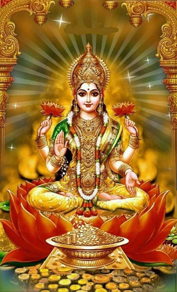 God Lakshmi Narasimha Photos Goddess Lakshmi 581x960 Download Hd Wallpaper Wallpapertip
