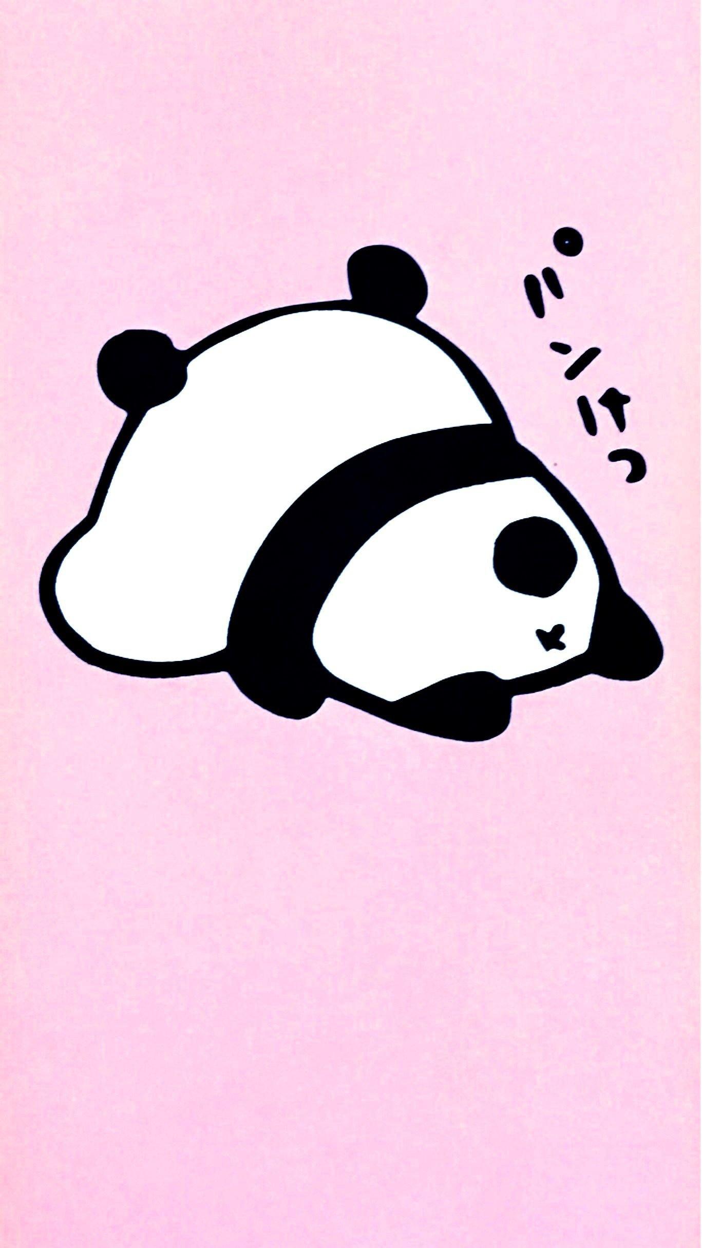Background Panda Pink 1367x2430 Download Hd Wallpaper Wallpapertip