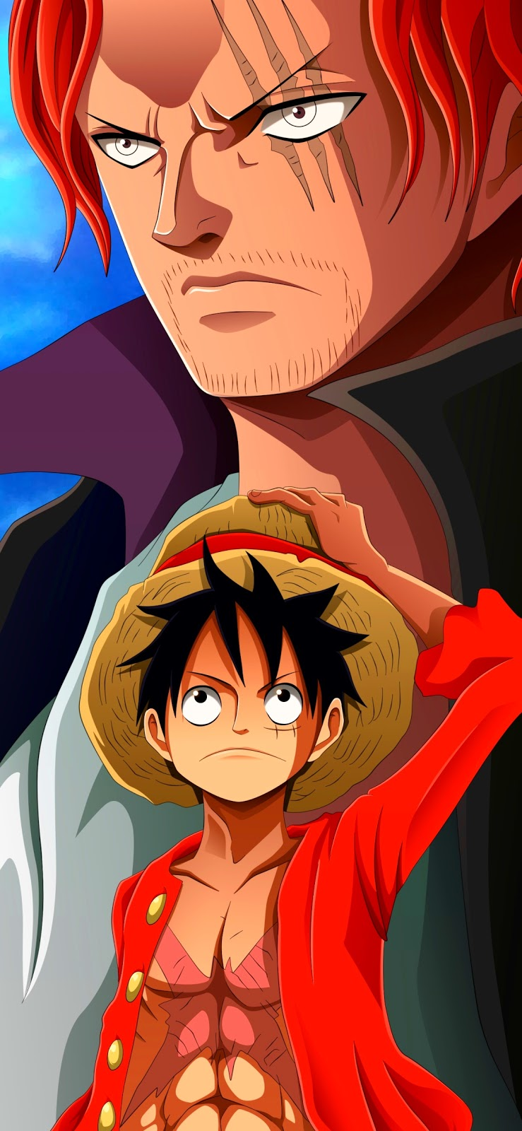 One Piece Monkey D Anime One Piece Brothers 739x1600 Download Hd Wallpaper Wallpapertip
