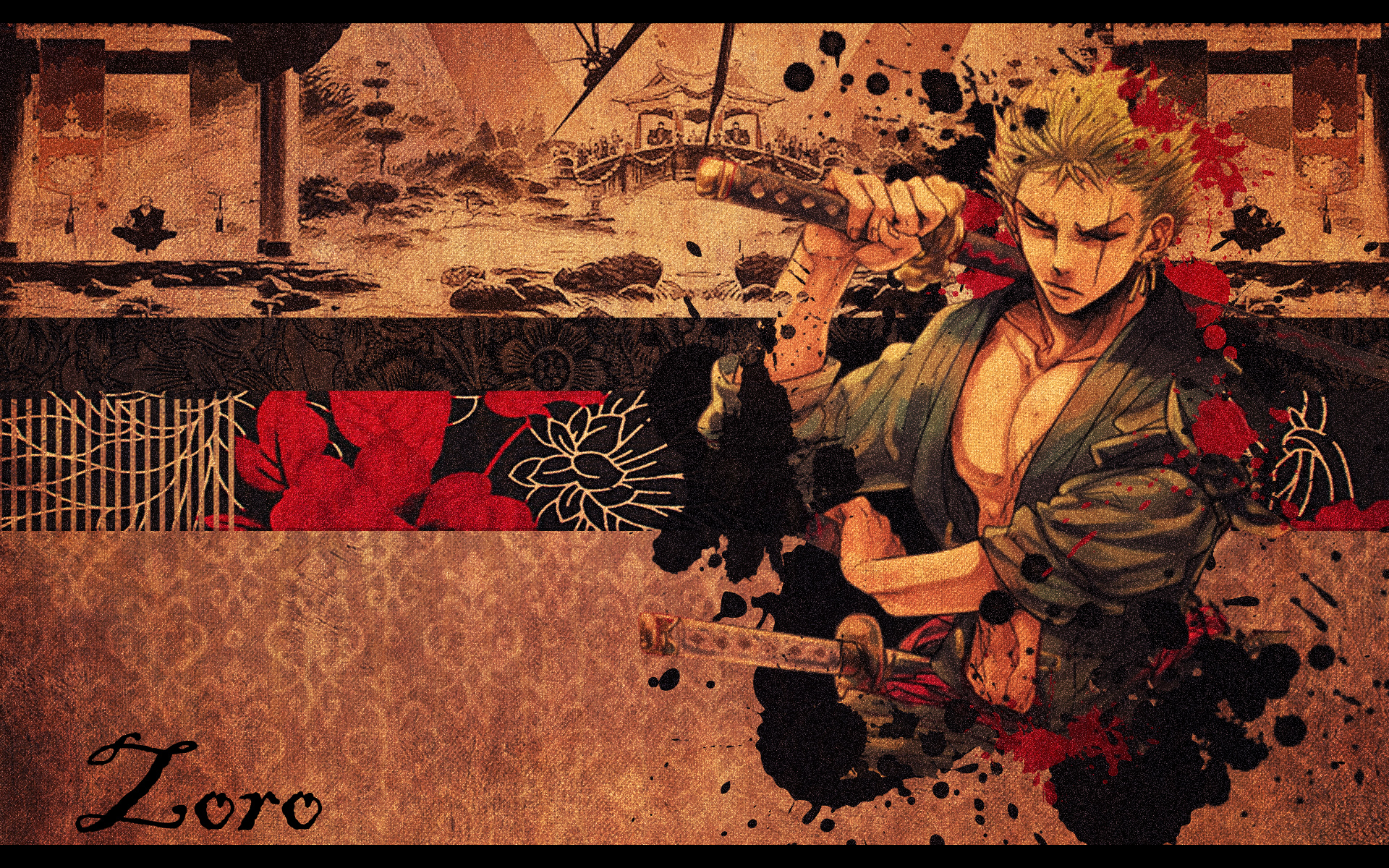 Roronoa Zoro Wallpaper One Piece Zoro 1920x1200 Download Hd Wallpaper Wallpapertip