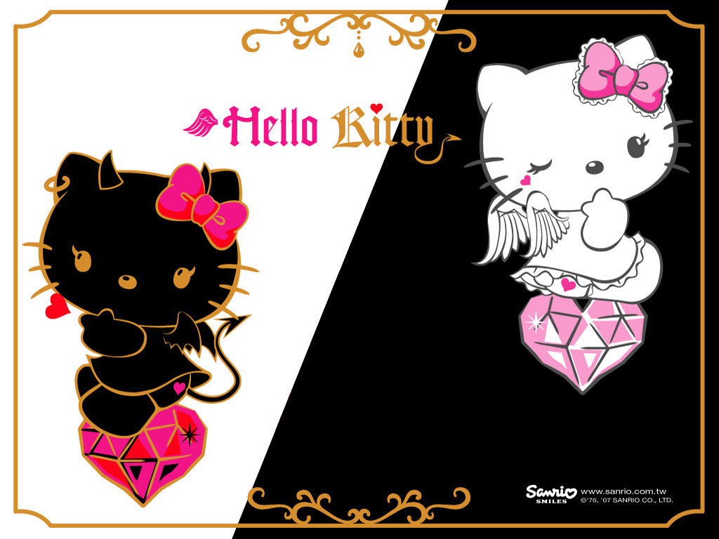 Aesthetic Hello Kitty Background 1024x768 Download Hd Wallpaper Wallpapertip