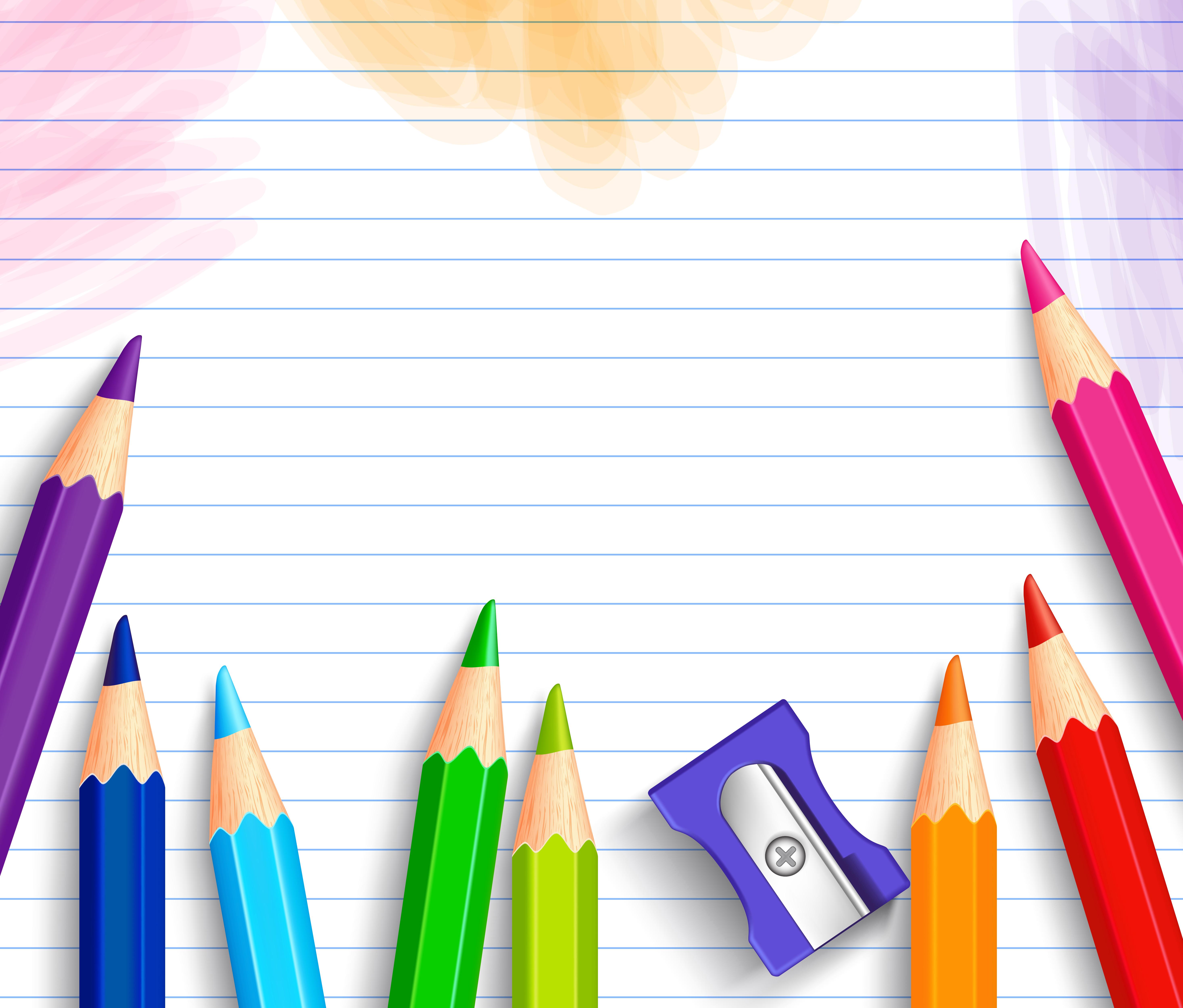 School Background With Pencils M 1439930300 School Clipart Background 5866x5000 Download Hd Wallpaper Wallpapertip