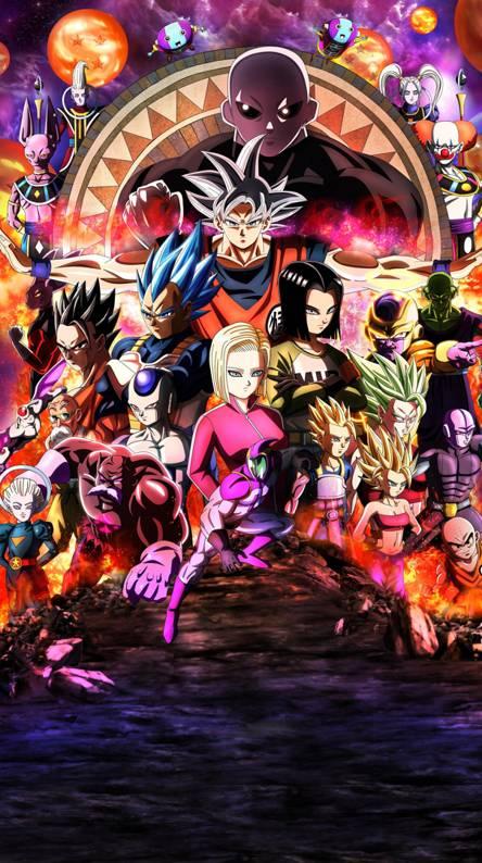 Dragon Ball Super Infinity War 444x794 Download Hd Wallpaper Wallpapertip