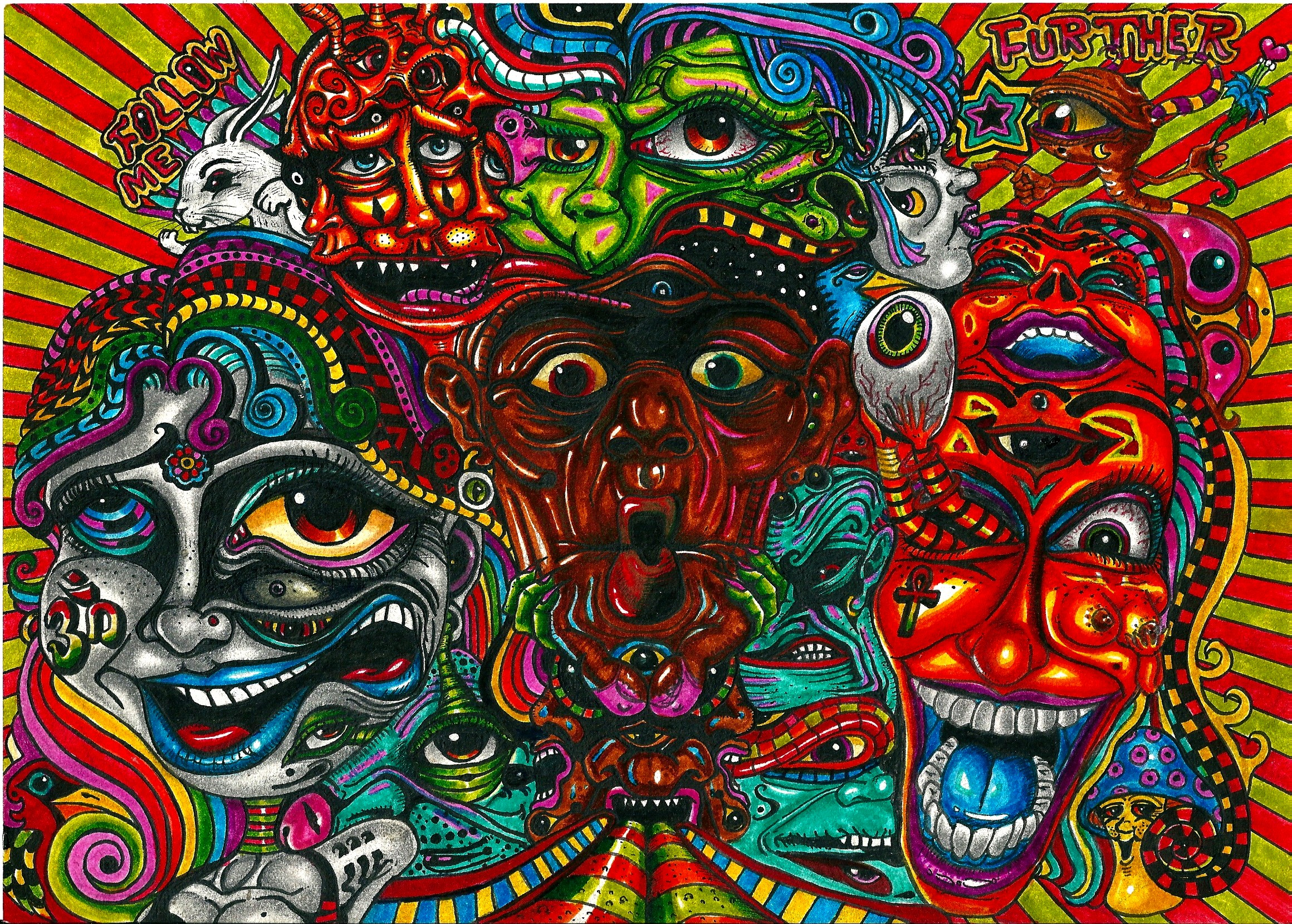 Acid Trip Wallpaper Images Pictures Becuo Lsd Bad Trip 2320x1659 Download Hd Wallpaper Wallpapertip