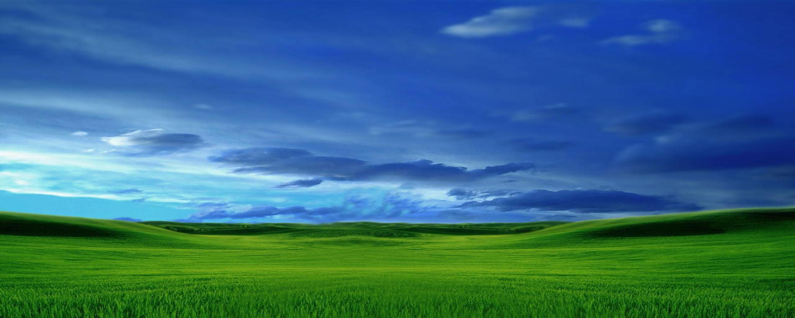 Microsoftデスクトップの背景 デュアル壁紙 2560x1024 Wallpapertip