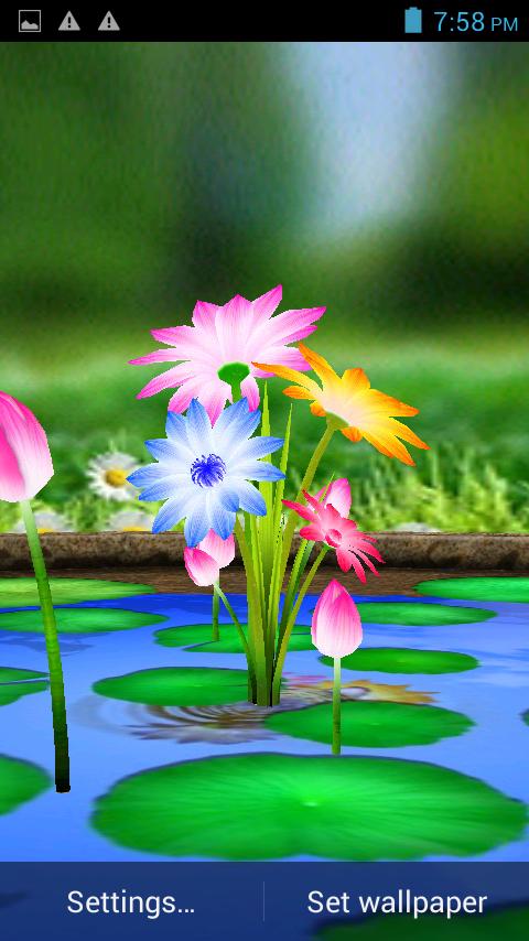Touch Live Wallpaper 3d Mobile Screen Wallpaper Download 480x854 Download Hd Wallpaper Wallpapertip