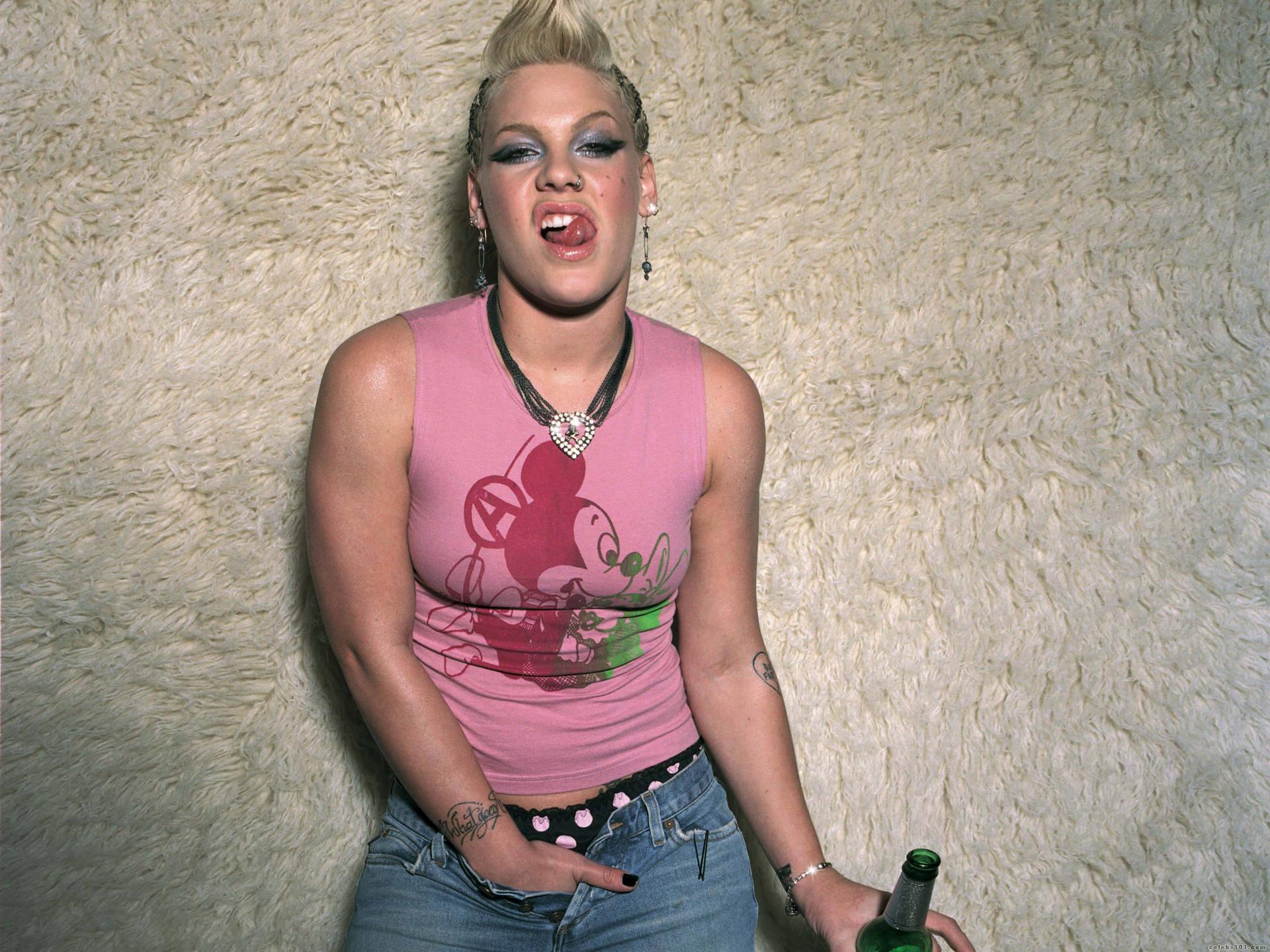 pink singer sexy