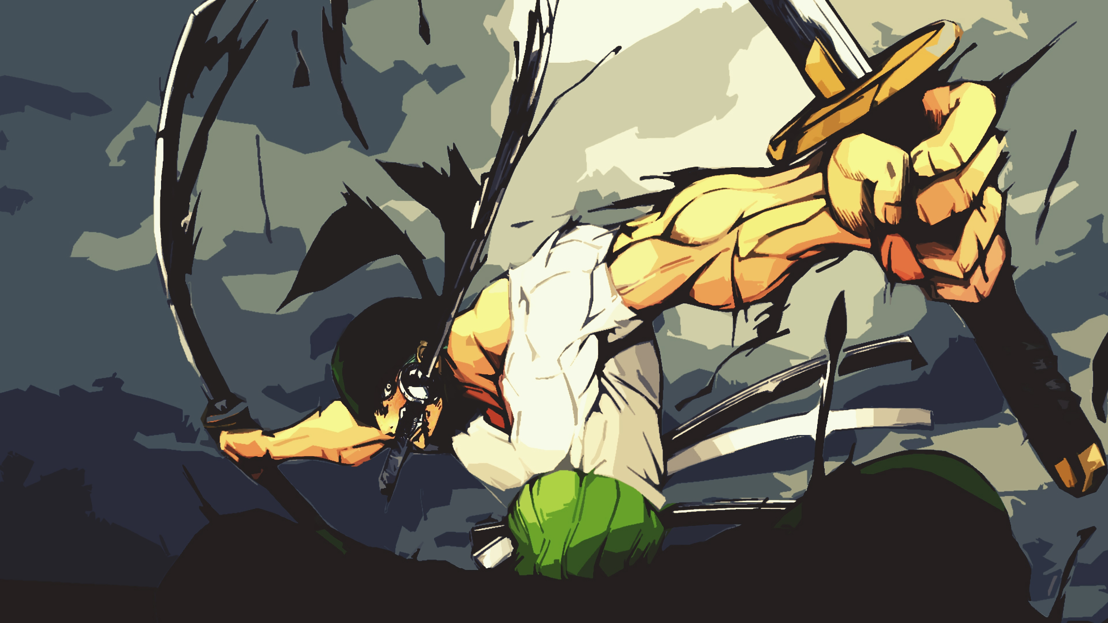 Zoro One Piece Wallpaper Pc 3840x2160 Download Hd Wallpaper Wallpapertip