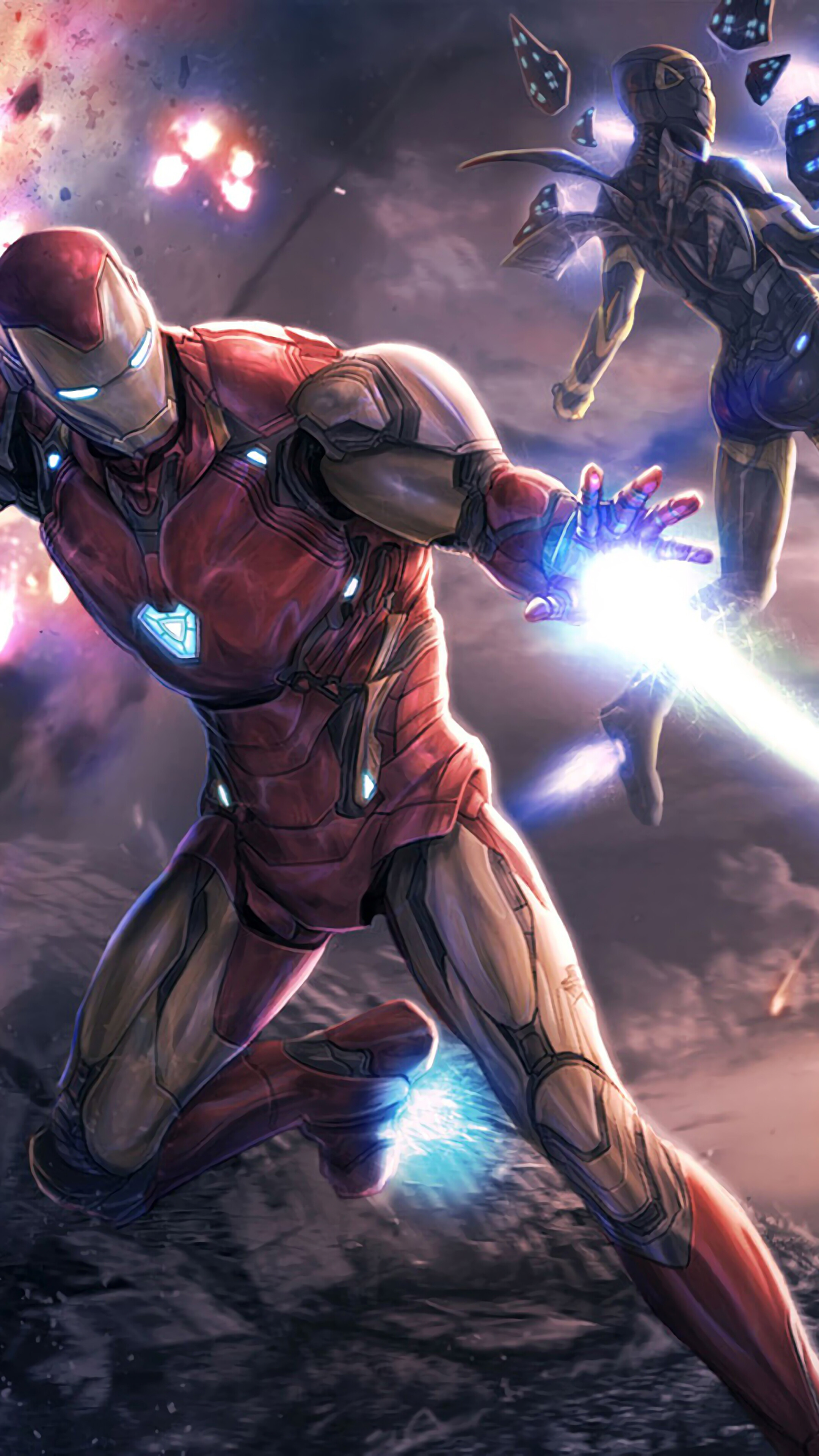 Avengers Endgame Iron Man 2160x3840 Download Hd Wallpaper Wallpapertip