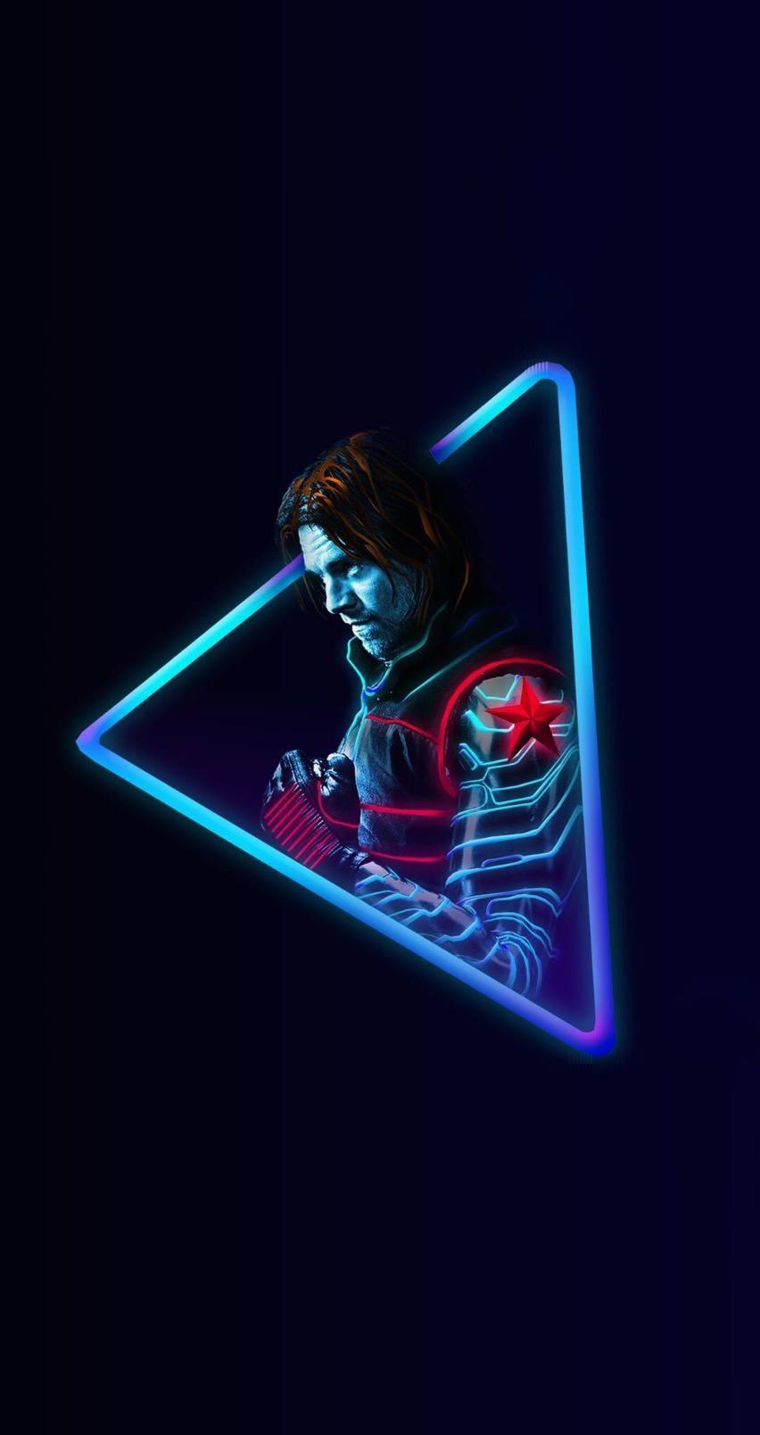 Avengers Endgame Wallpaper Neon ...