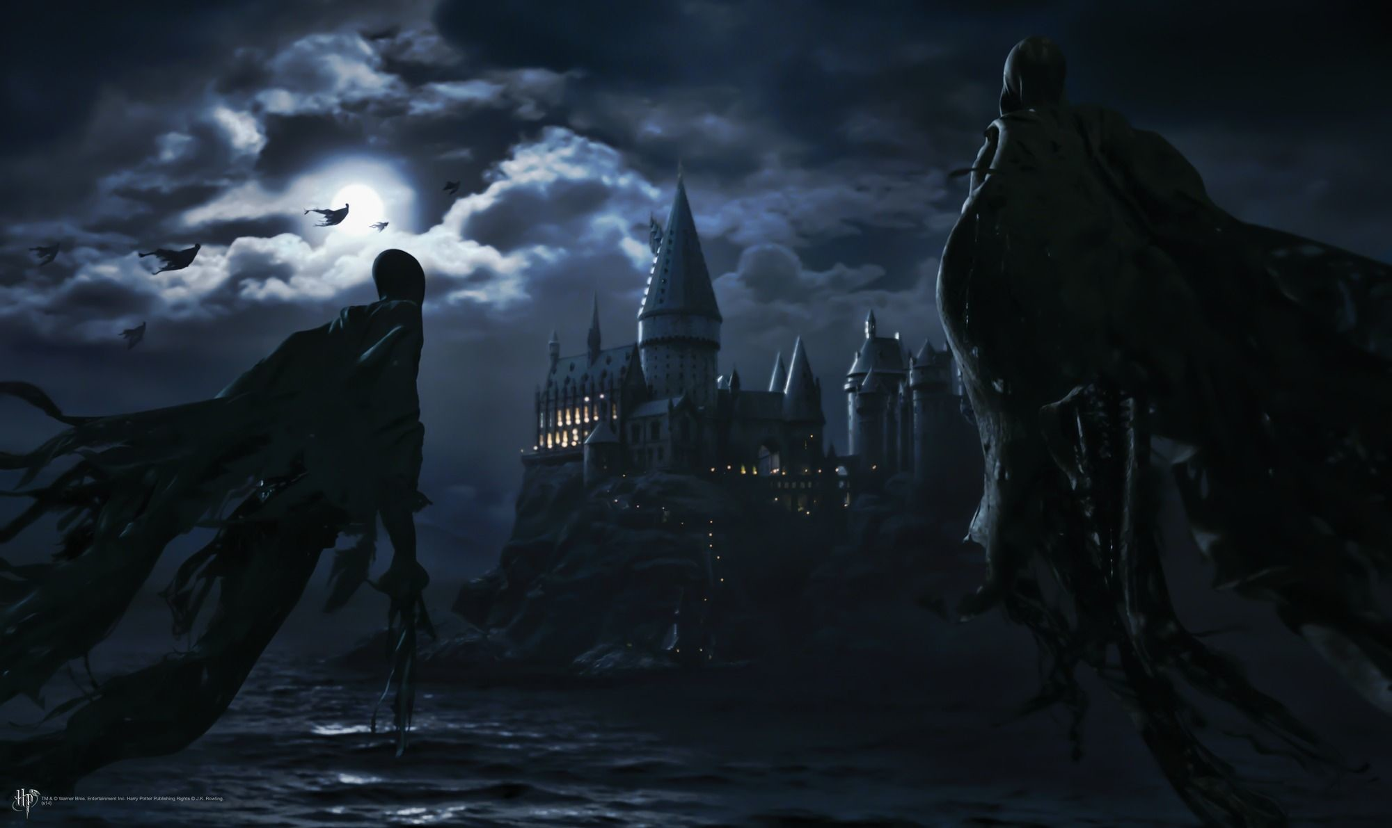 Hogwarts Wallpapers 79 Background Pictures Harry Potter Dementor 2000x1191 Download Hd Wallpaper Wallpapertip