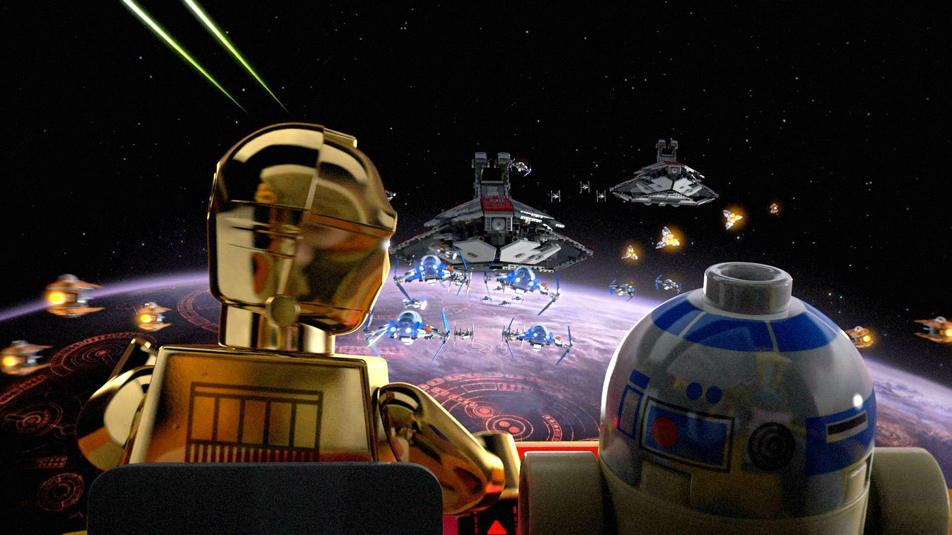 Lego Star Wars Action Adventure Toy Futuristic Family Star Wars Background Lego 1920x1080 Download Hd Wallpaper Wallpapertip