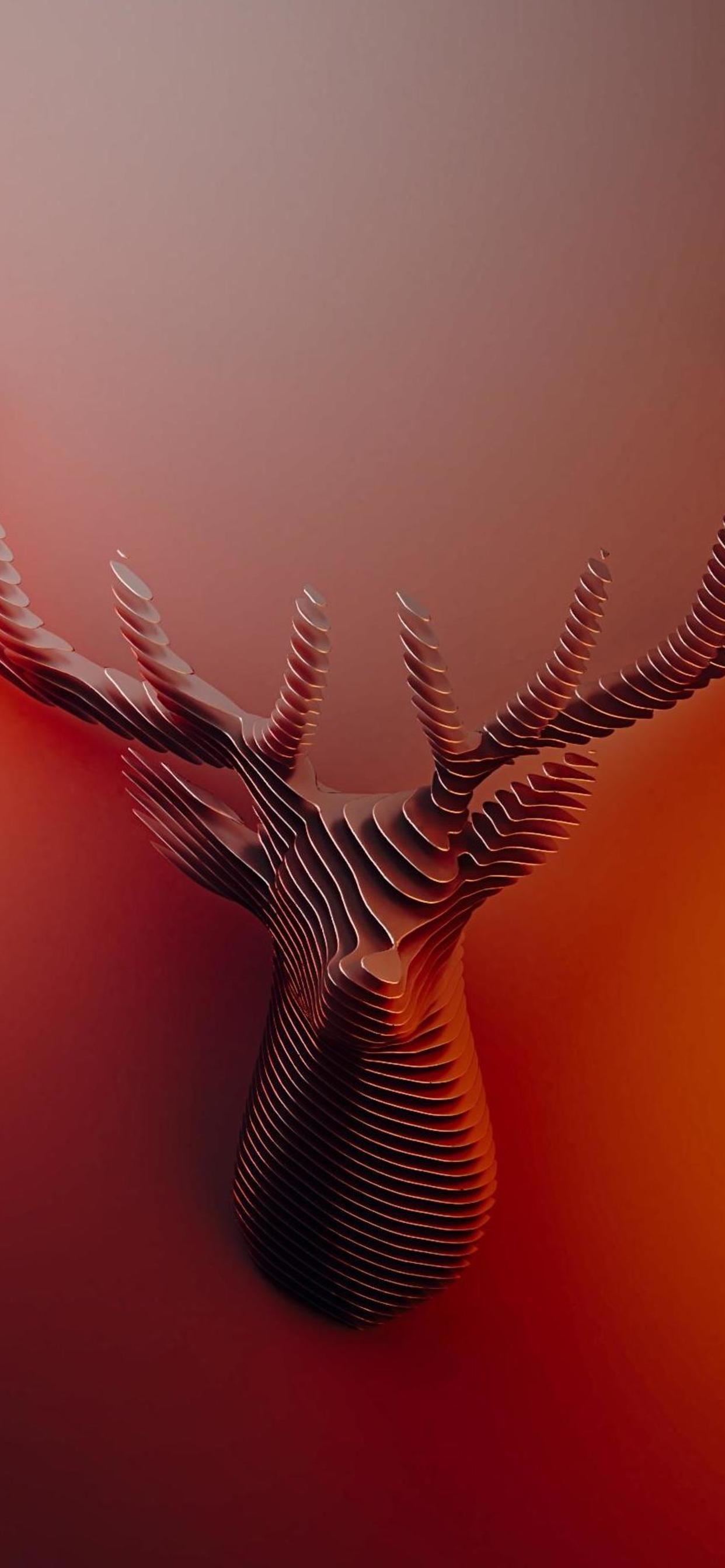 Deer Horns Abstract 4k Mq Abstract 4k Wallpapers Iphone Xr 1242x2688 Download Hd Wallpaper Wallpapertip