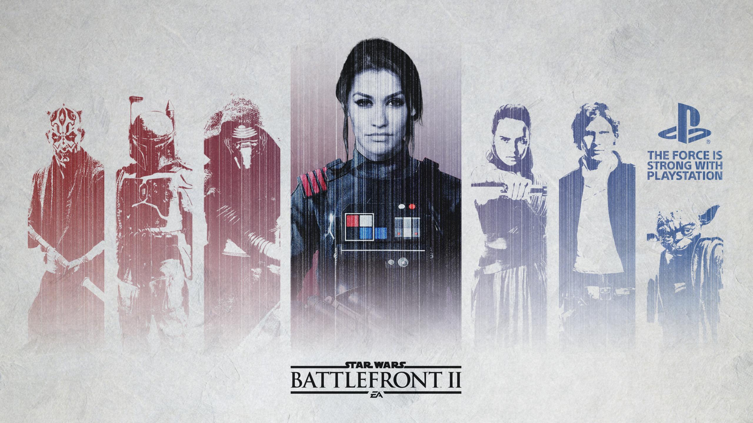 Star Wars Battlefront 2 Wallpaper Ps4 2560x1440 Download Hd Wallpaper Wallpapertip
