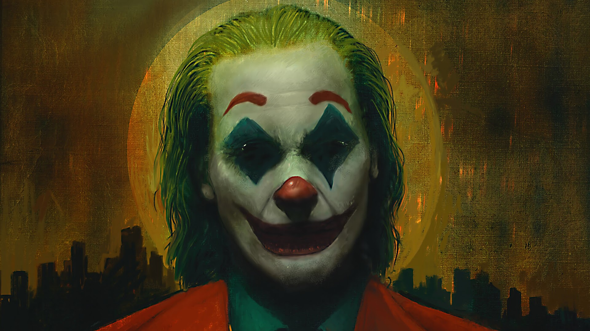 Joker 2019 4k Joker Joaquin Phoenix 1920x1080 Download Hd Wallpaper Wallpapertip