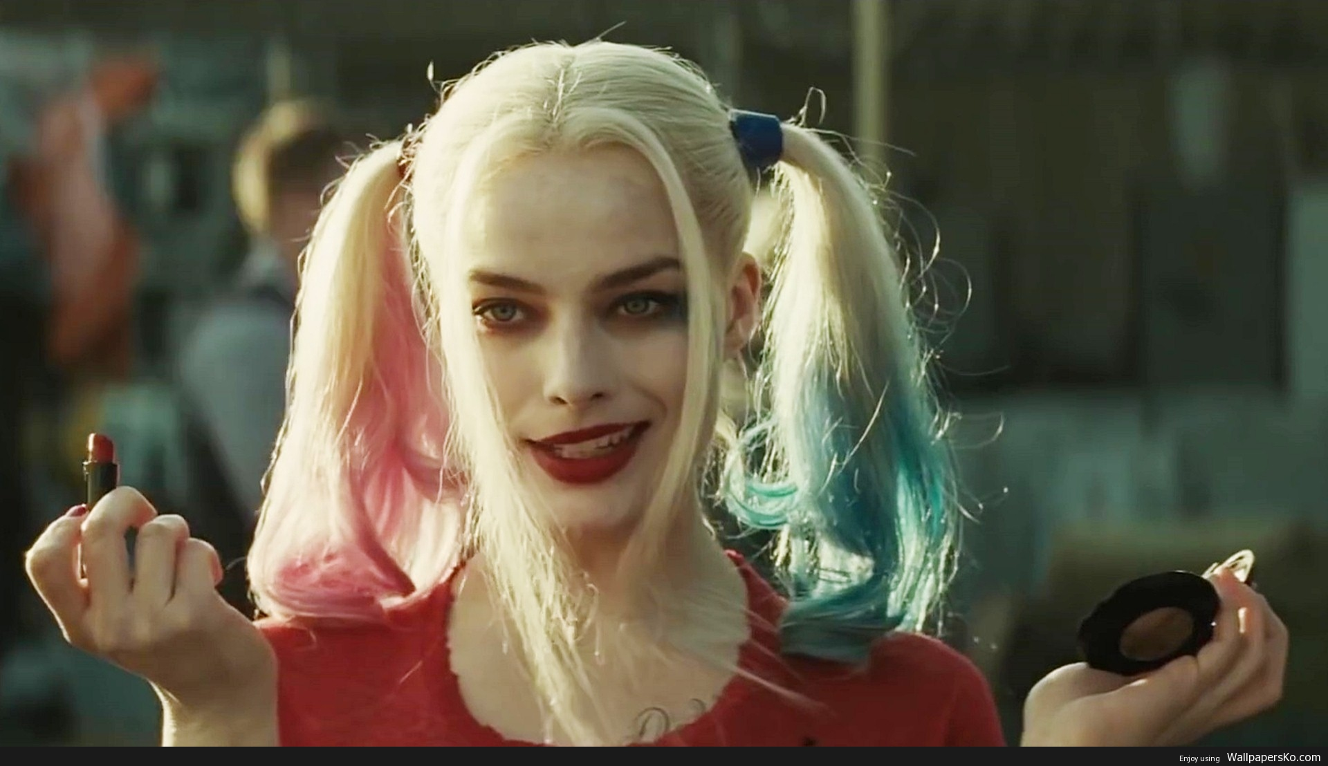 Harley Quinn Margot Robbie 1920x1108 Download Hd Wallpaper Wallpapertip