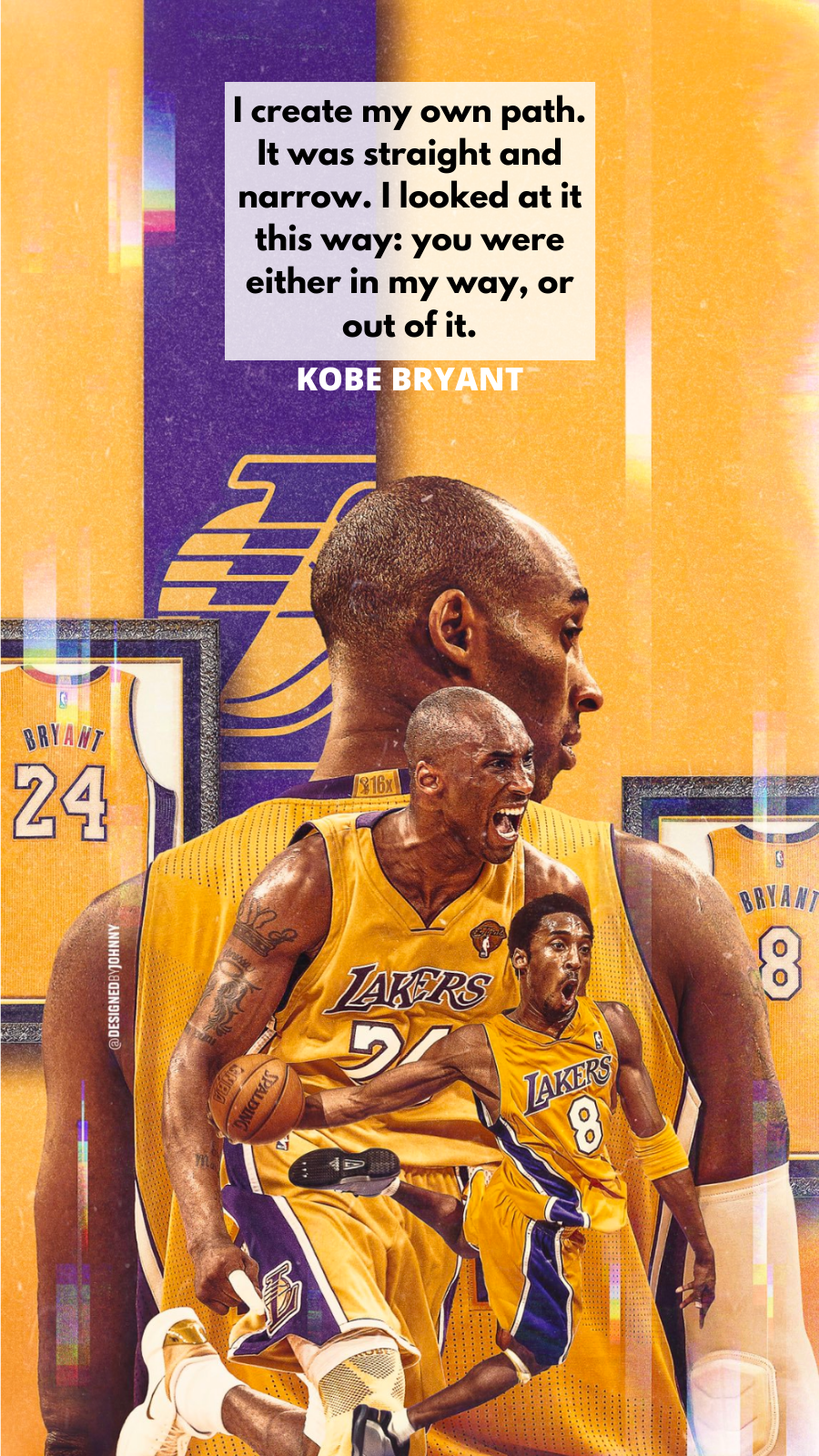 Having A Kobe Bryant Wallpaper Would Be A Great Way Kobe Bryant 900x1600 Download Hd Wallpaper Wallpapertip