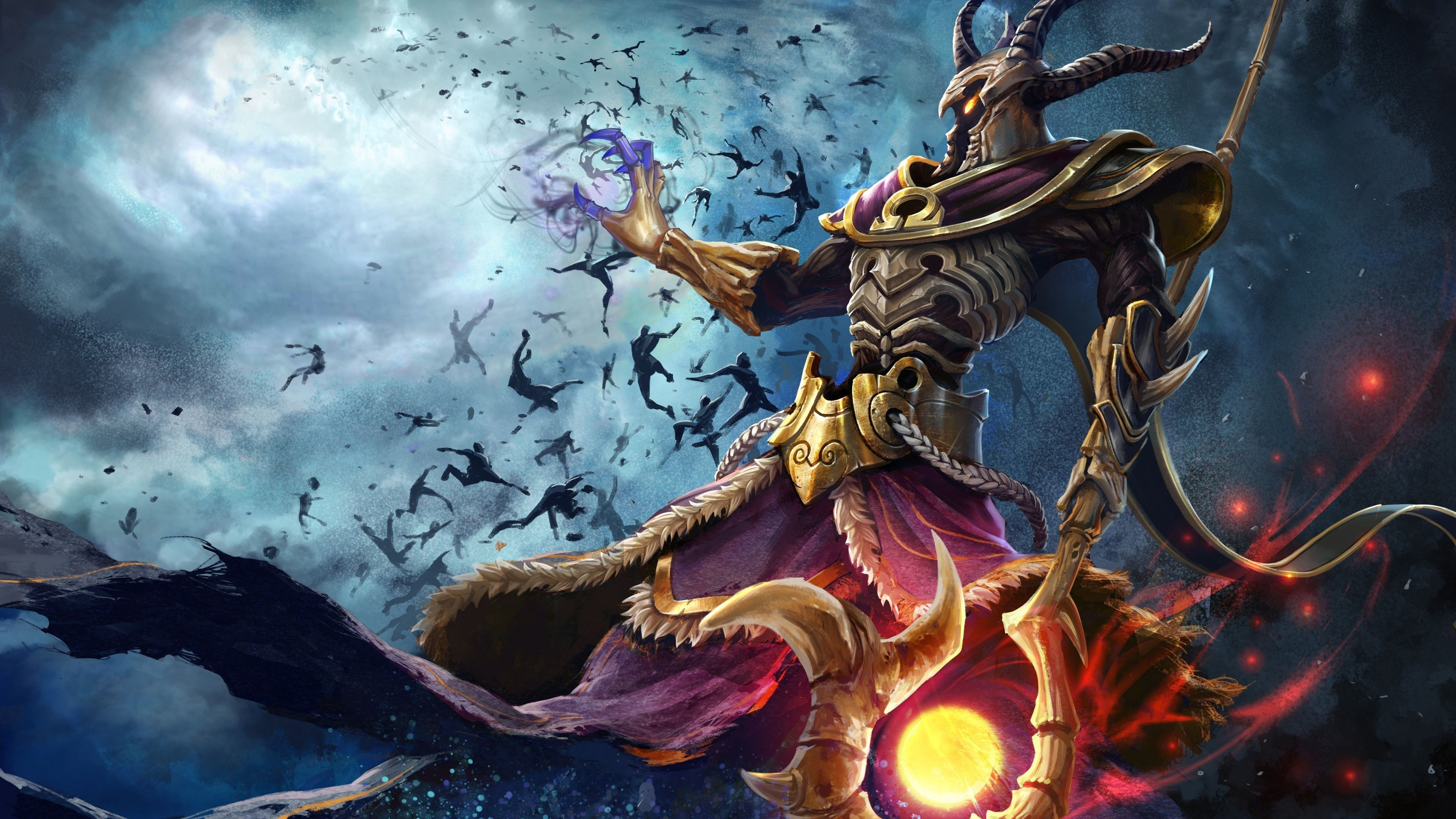 4k Ultra Hd Games Wallpapers Desktop Backgrounds Hd Hades Smite 3840x2160 Download Hd Wallpaper Wallpapertip