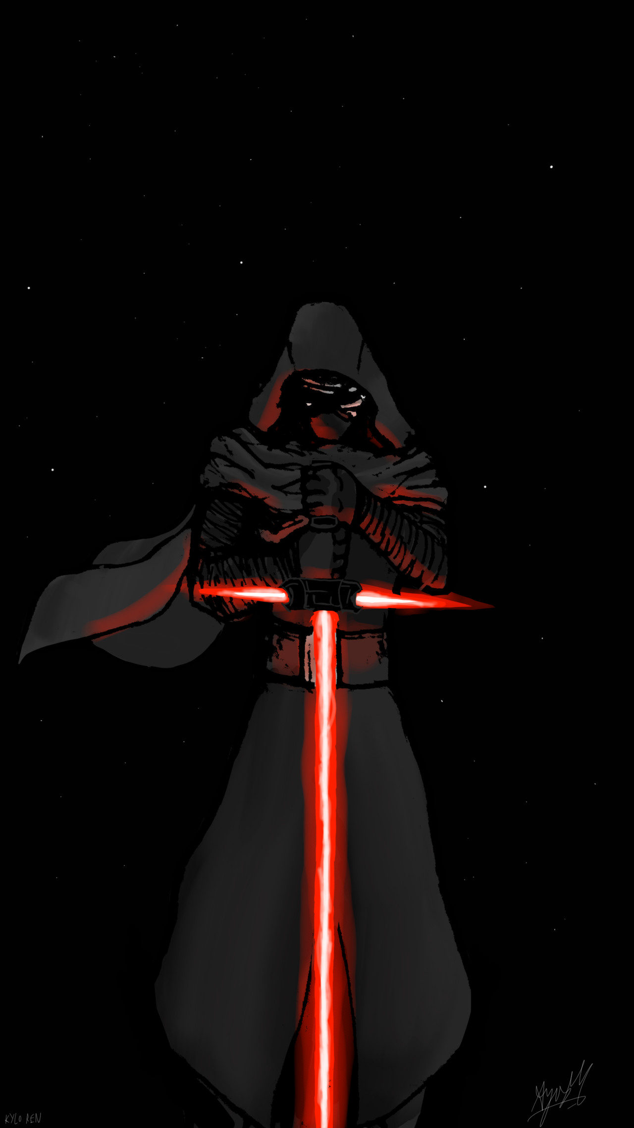 Malikisvengeance Star Wars The Force Awakens Kylo Ren Wallpaper Phone 1280x2275 Download Hd Wallpaper Wallpapertip
