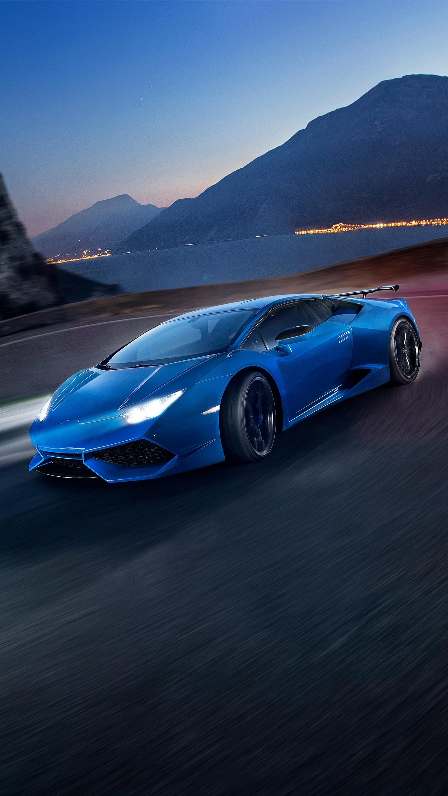 Blue Lamborghini Wallpaper For Iphone 1440x2560 Download Hd Wallpaper Wallpapertip