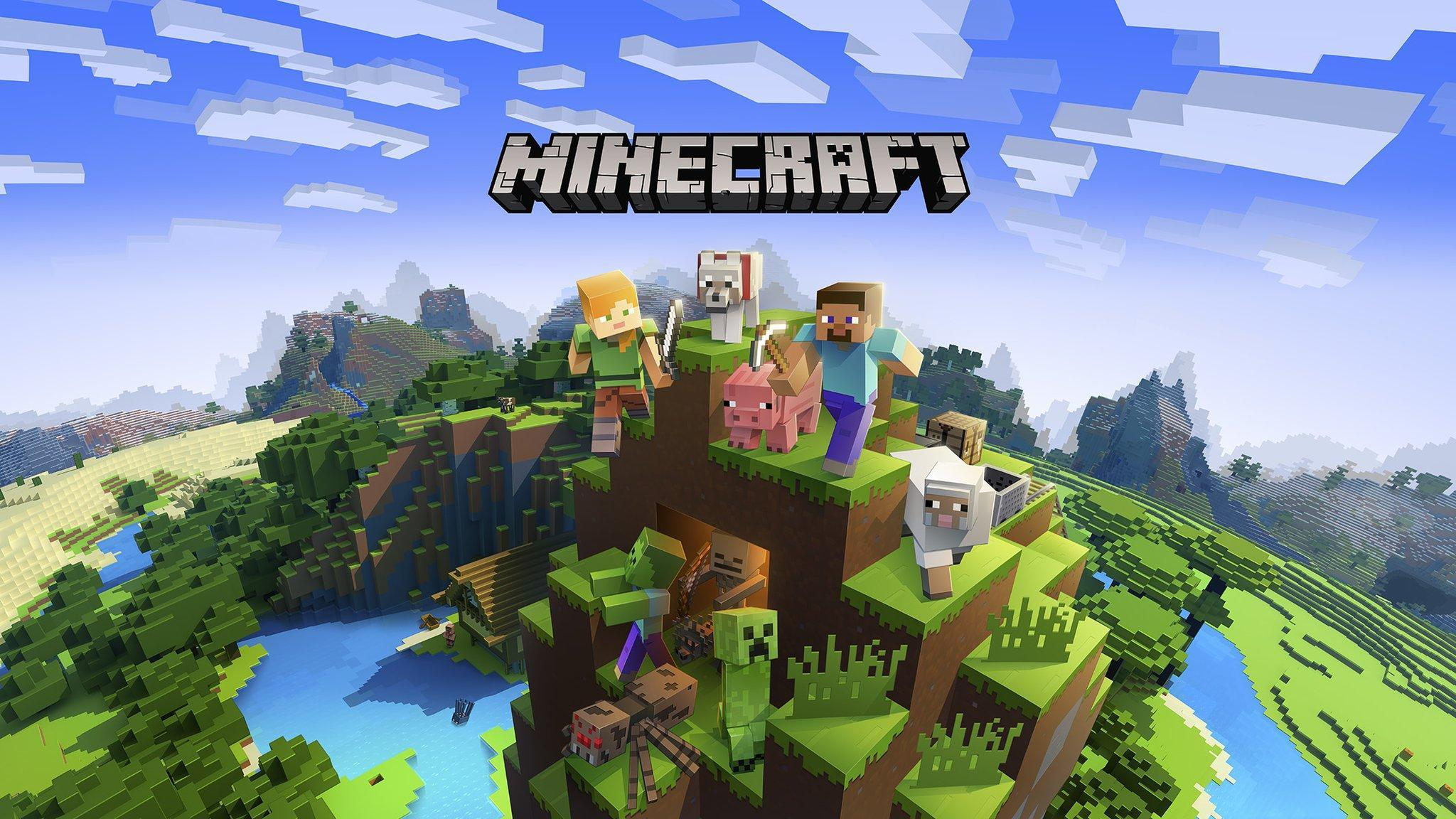 Minecraft Ps4 2048x1152 Download Hd Wallpaper Wallpapertip