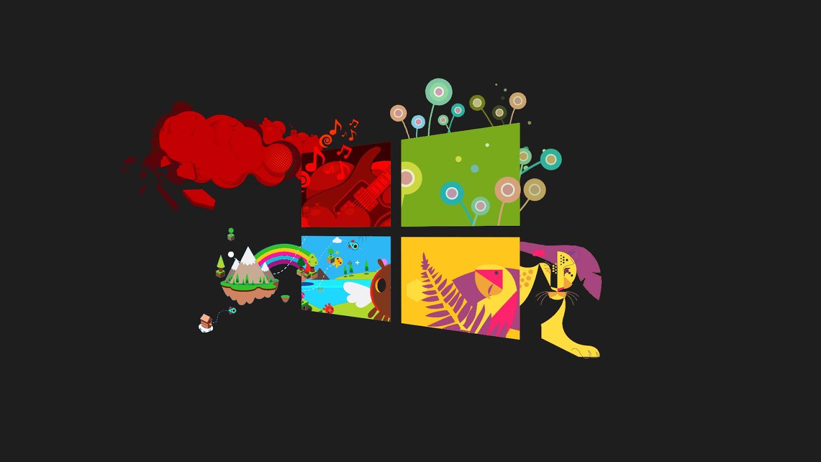 Wallpaper Hp Bergerak Cartoon Wallpaper For Windows 10 1600x900 Download Hd Wallpaper Wallpapertip