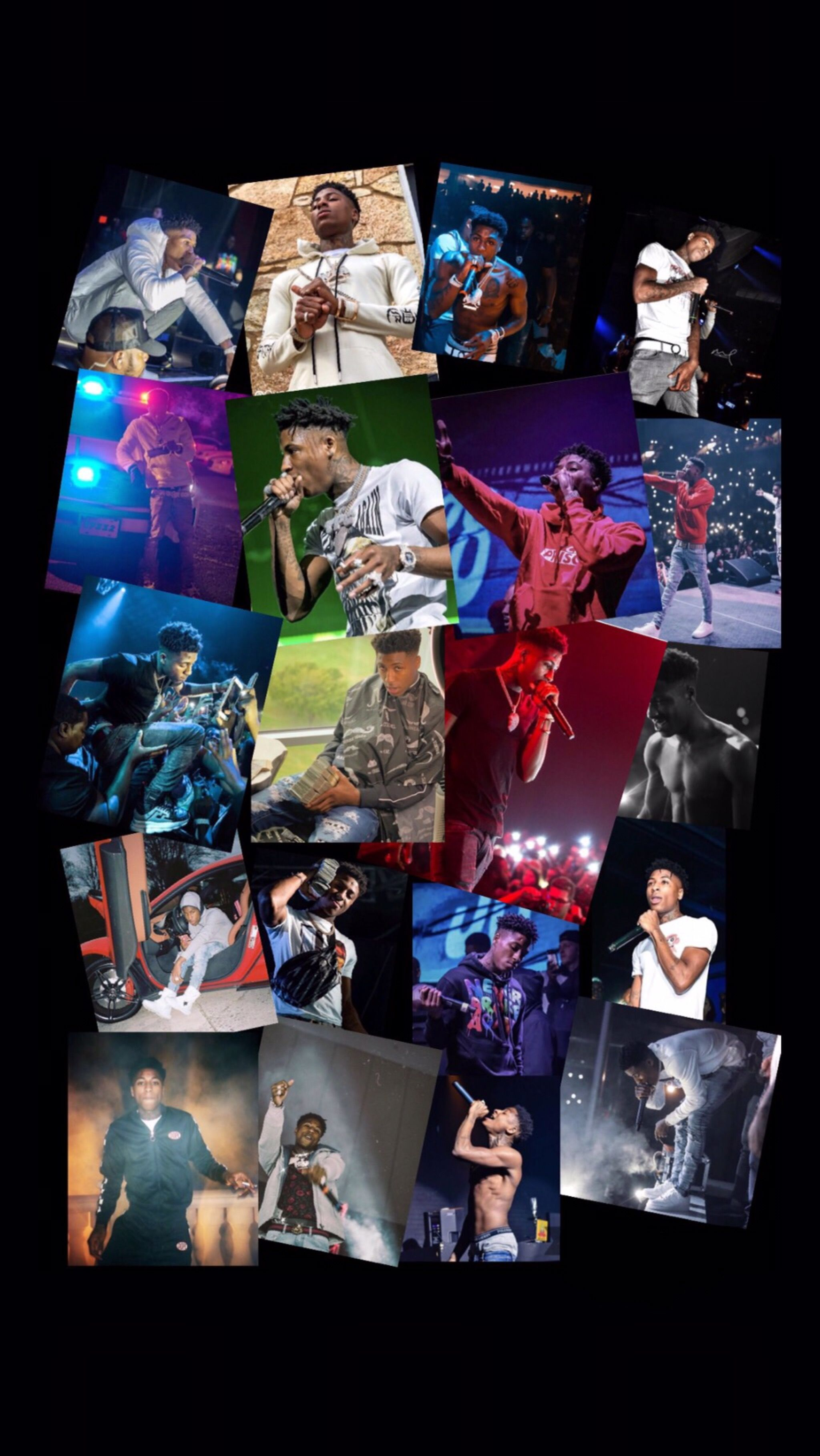 Iphone Nba Youngboy Collage - 2048x3638 ...