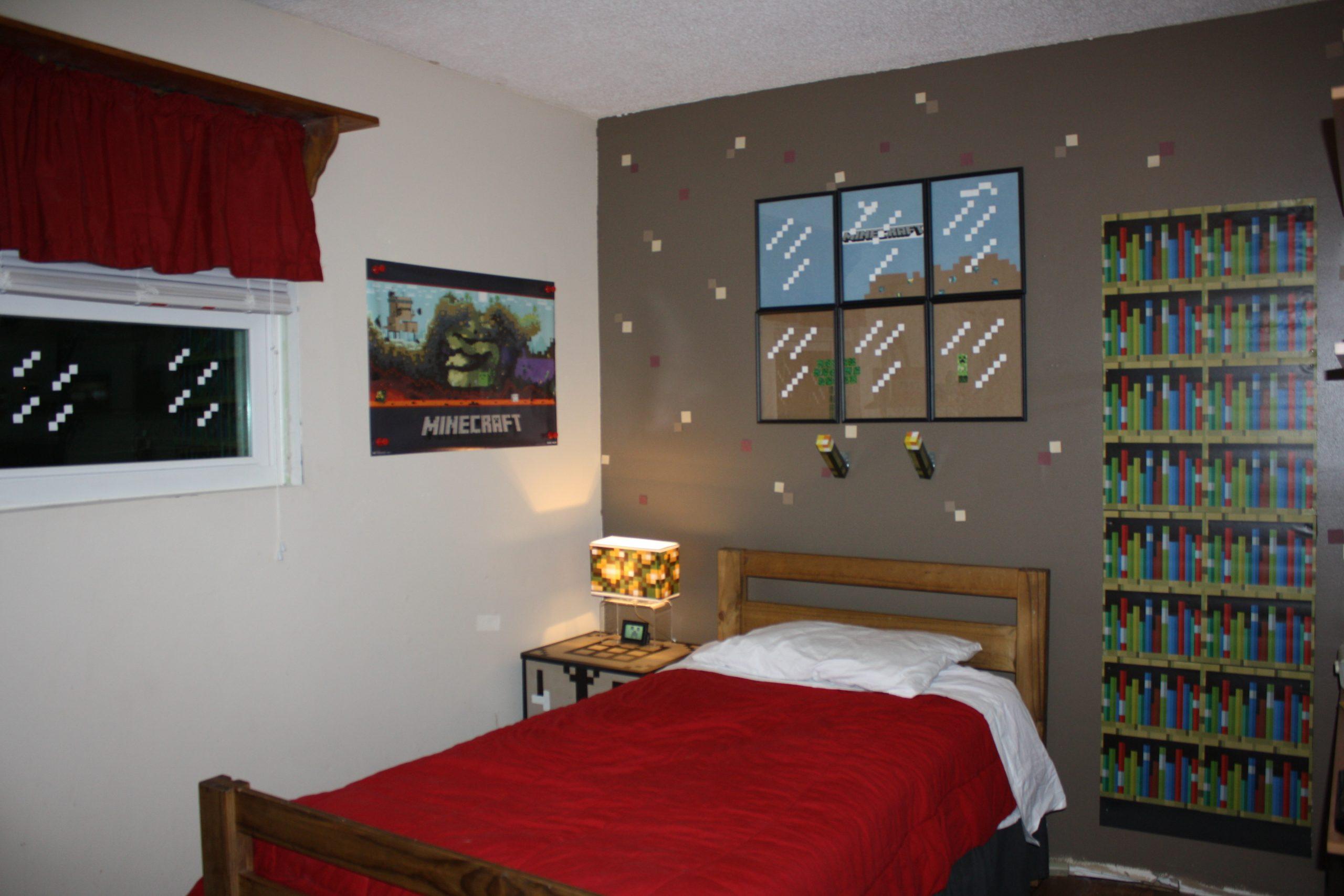 Fancy Minecraft Bedroom Designs 2560x1707 Download Hd Wallpaper Wallpapertip