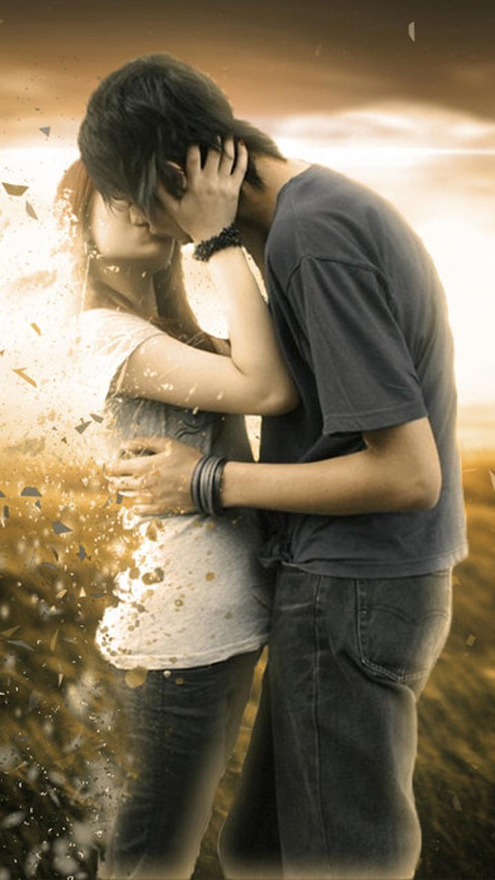Love Kiss Hd Wallpapers For Mobile Wallpaperscharlie 3d Love Couple 720x1280 Download Hd Wallpaper Wallpapertip