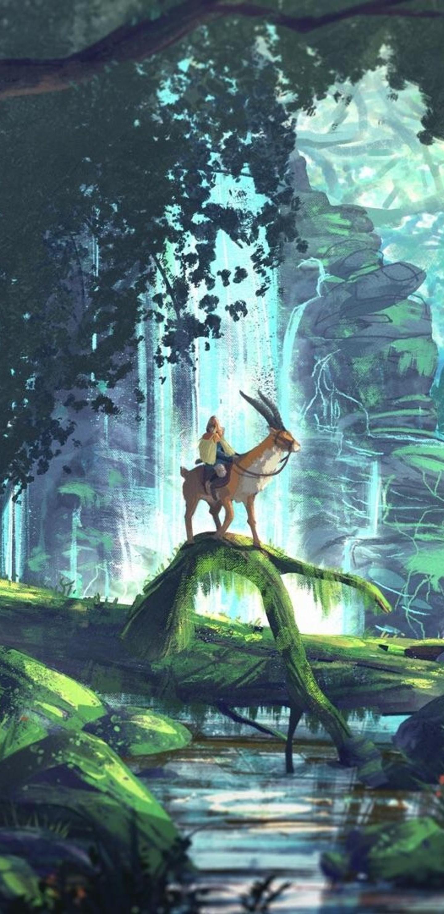 Princess Mononoke 1440x2960 Download Hd Wallpaper Wallpapertip