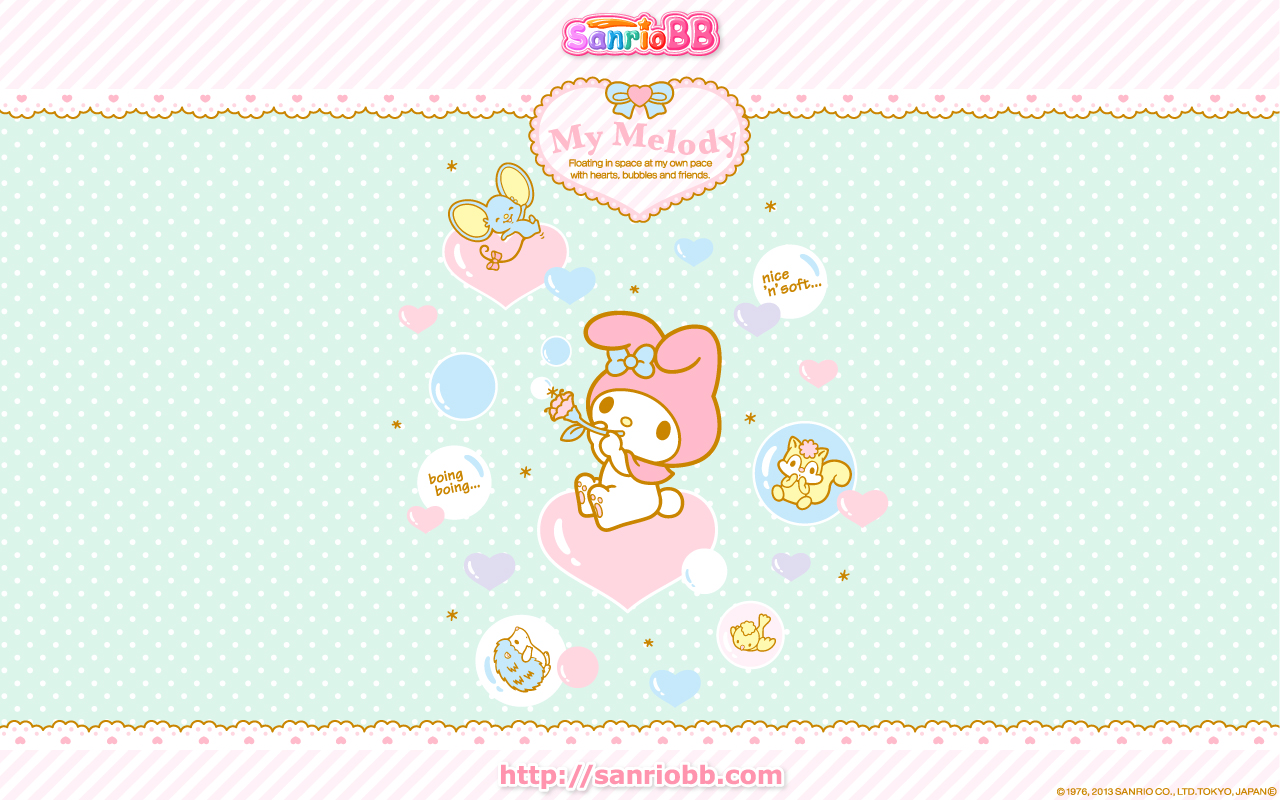 Sanrio My Melody Illustration 1280x800 Download Hd Wallpaper Wallpapertip